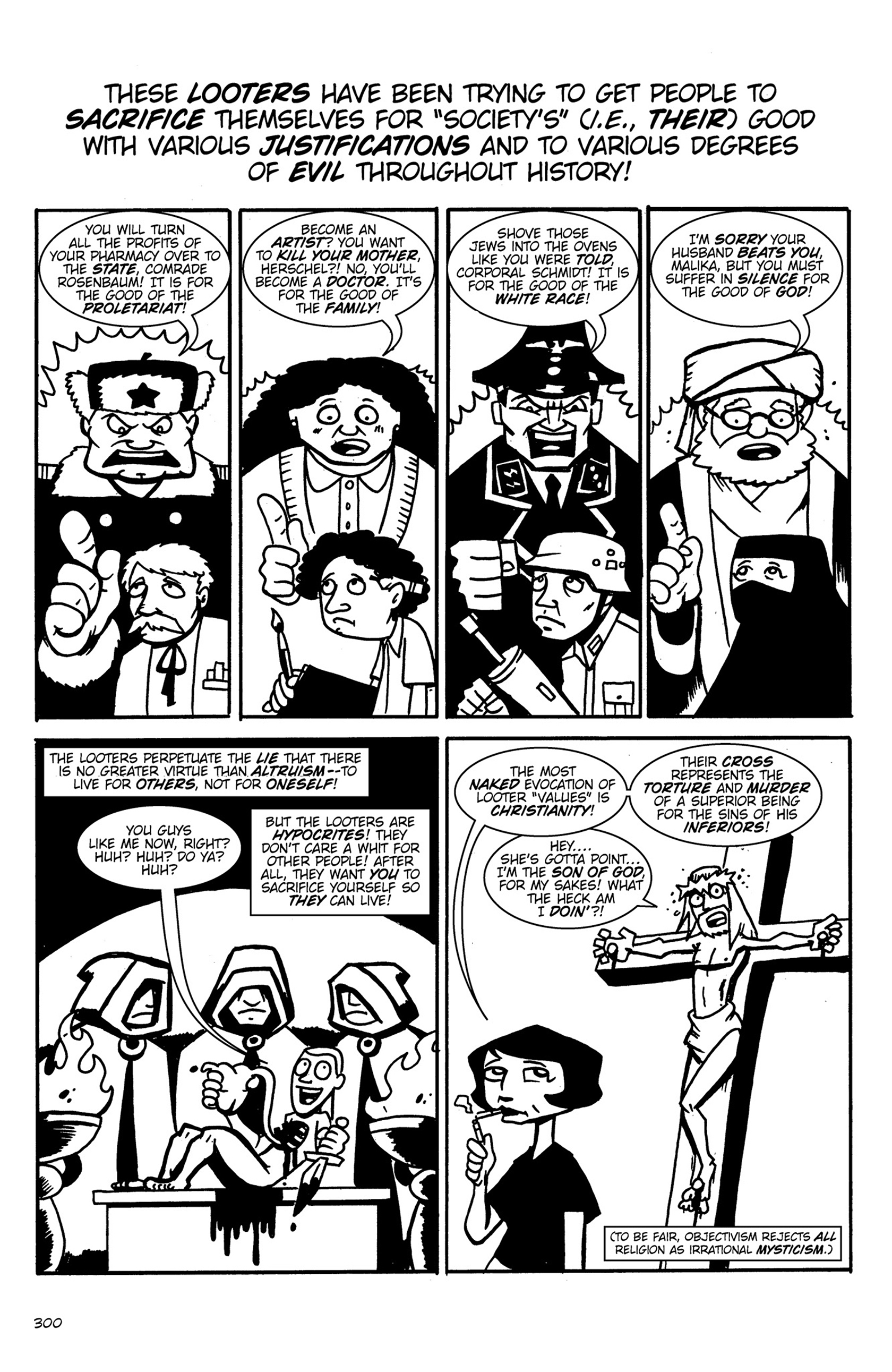 Read online Action Philosophers! comic -  Issue #Action Philosophers! TPB (Part 2) - 127