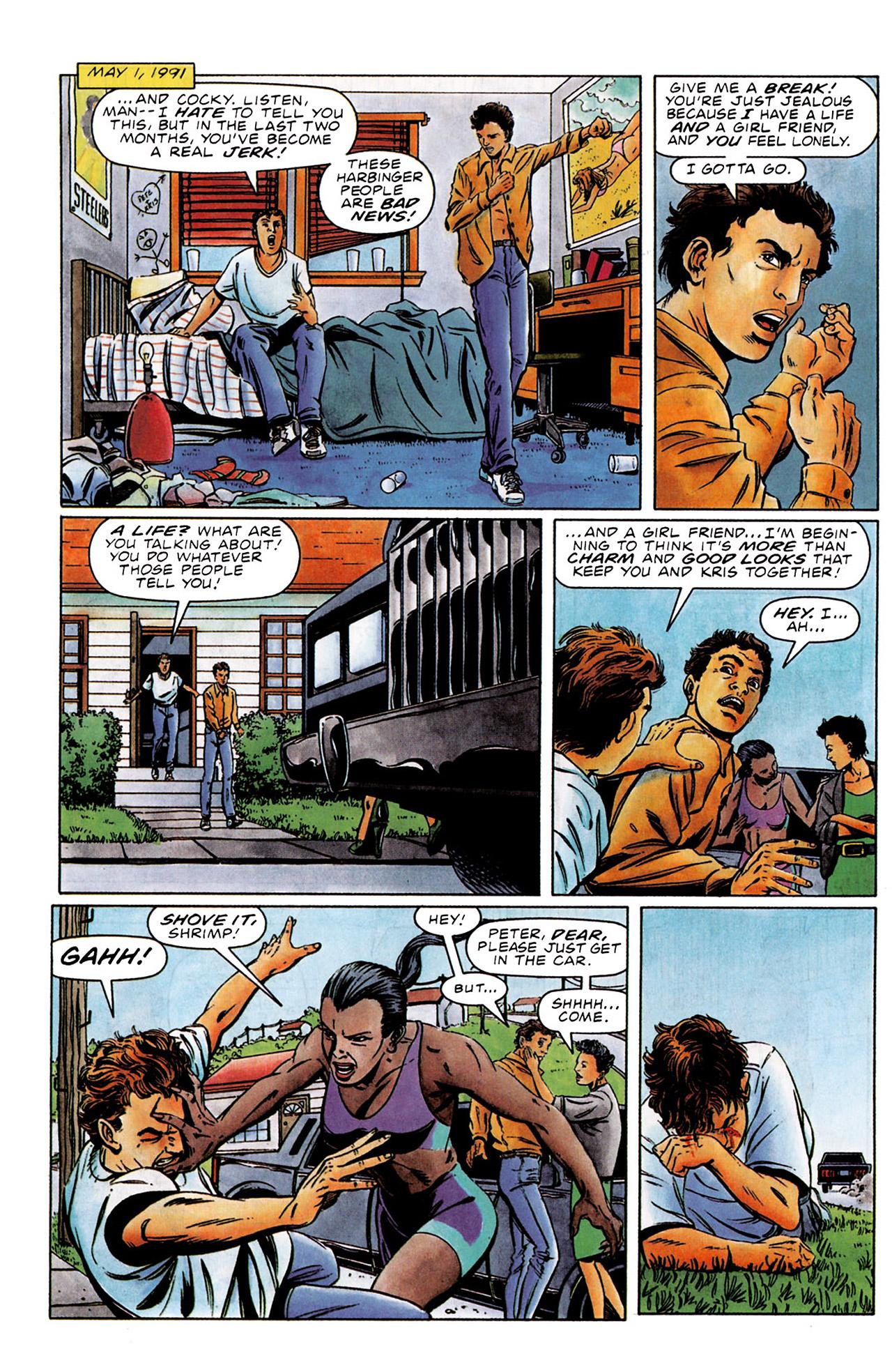 Read online Harbinger (1992) comic -  Issue #0 - 8