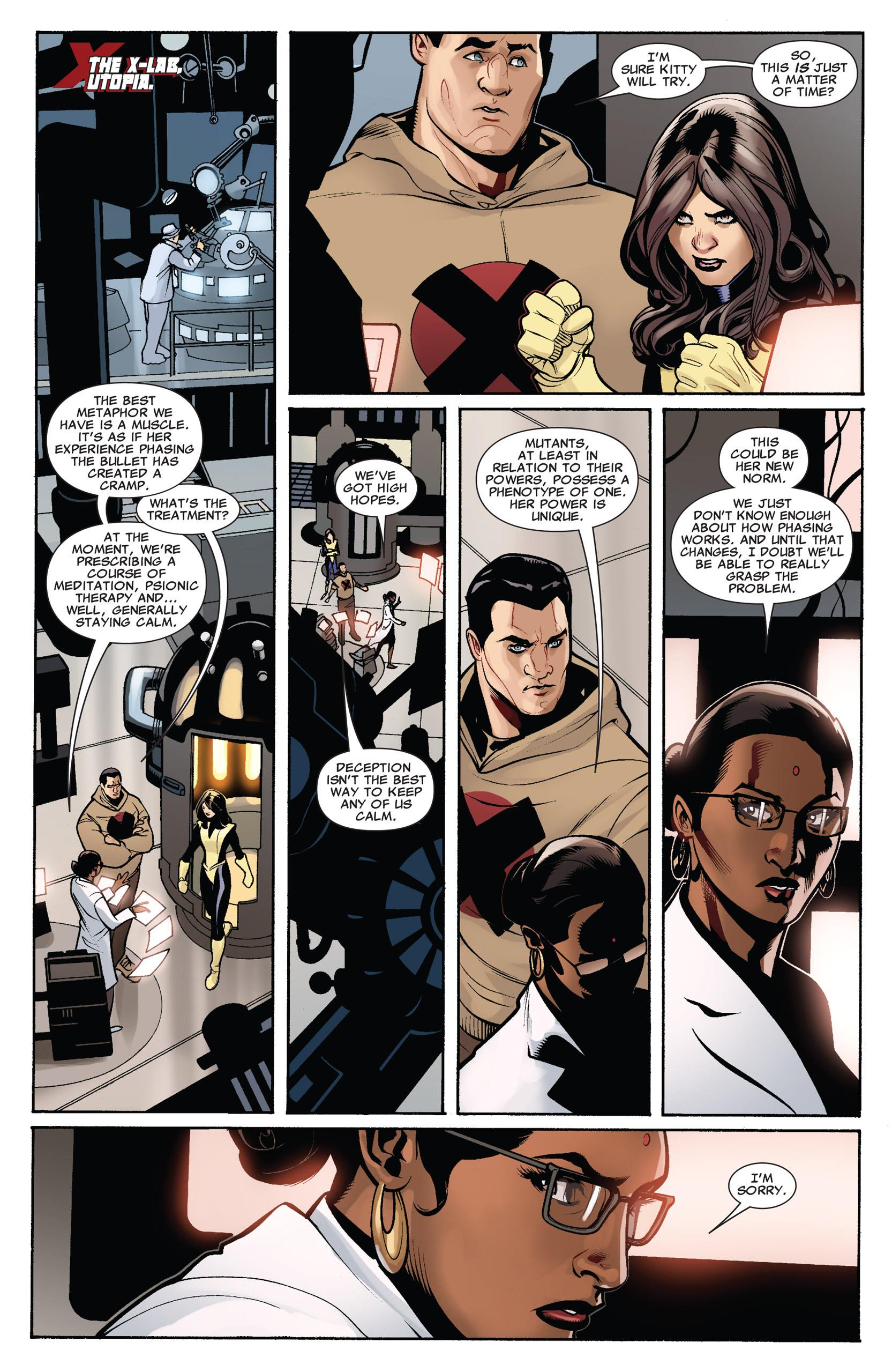Read online Uncanny X-Men (1963) comic -  Issue #535 - 10