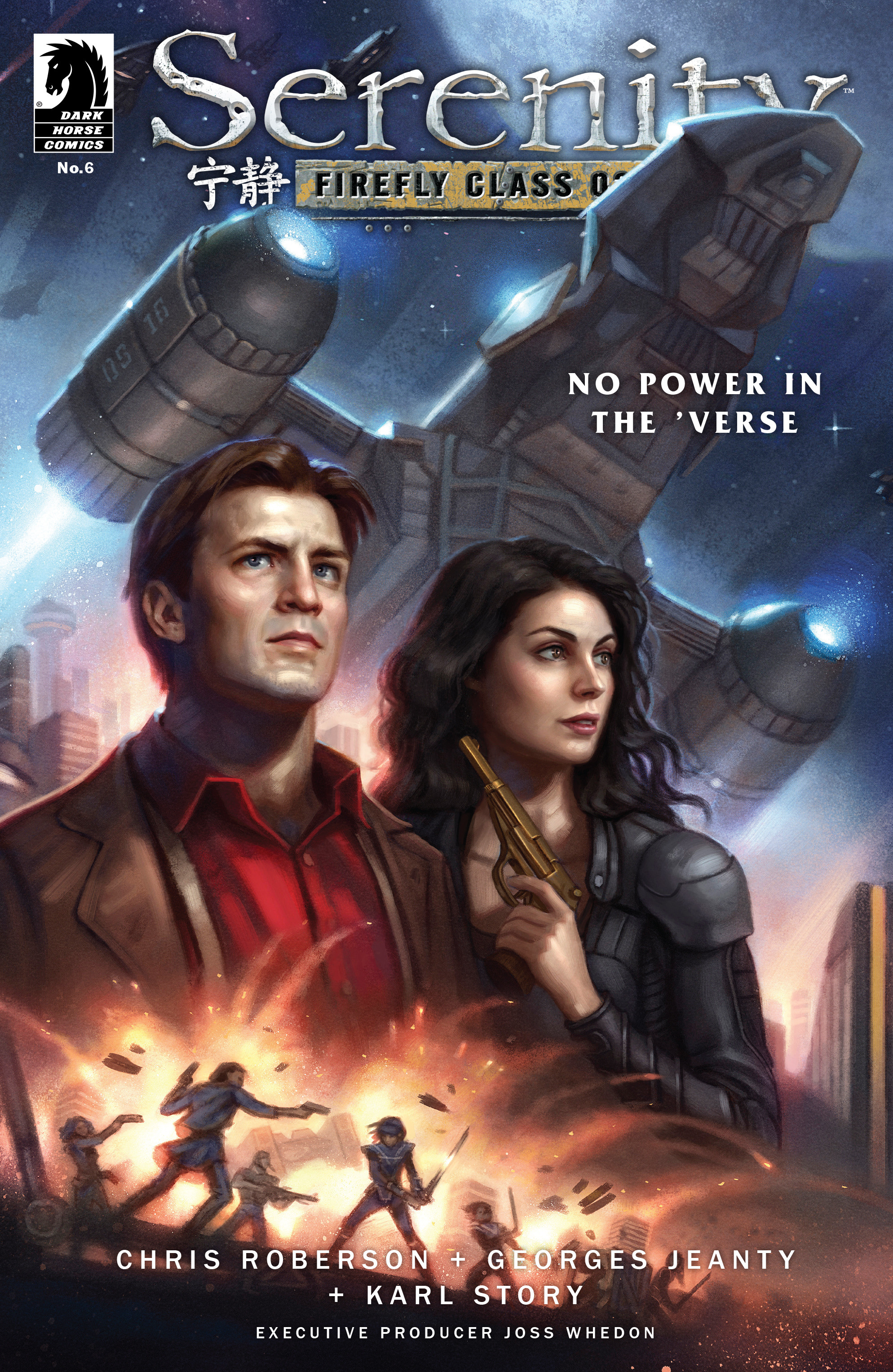 Read online Serenity: Firefly Class 03-K64 – No Power in the 'Verse comic -  Issue #6 - 1