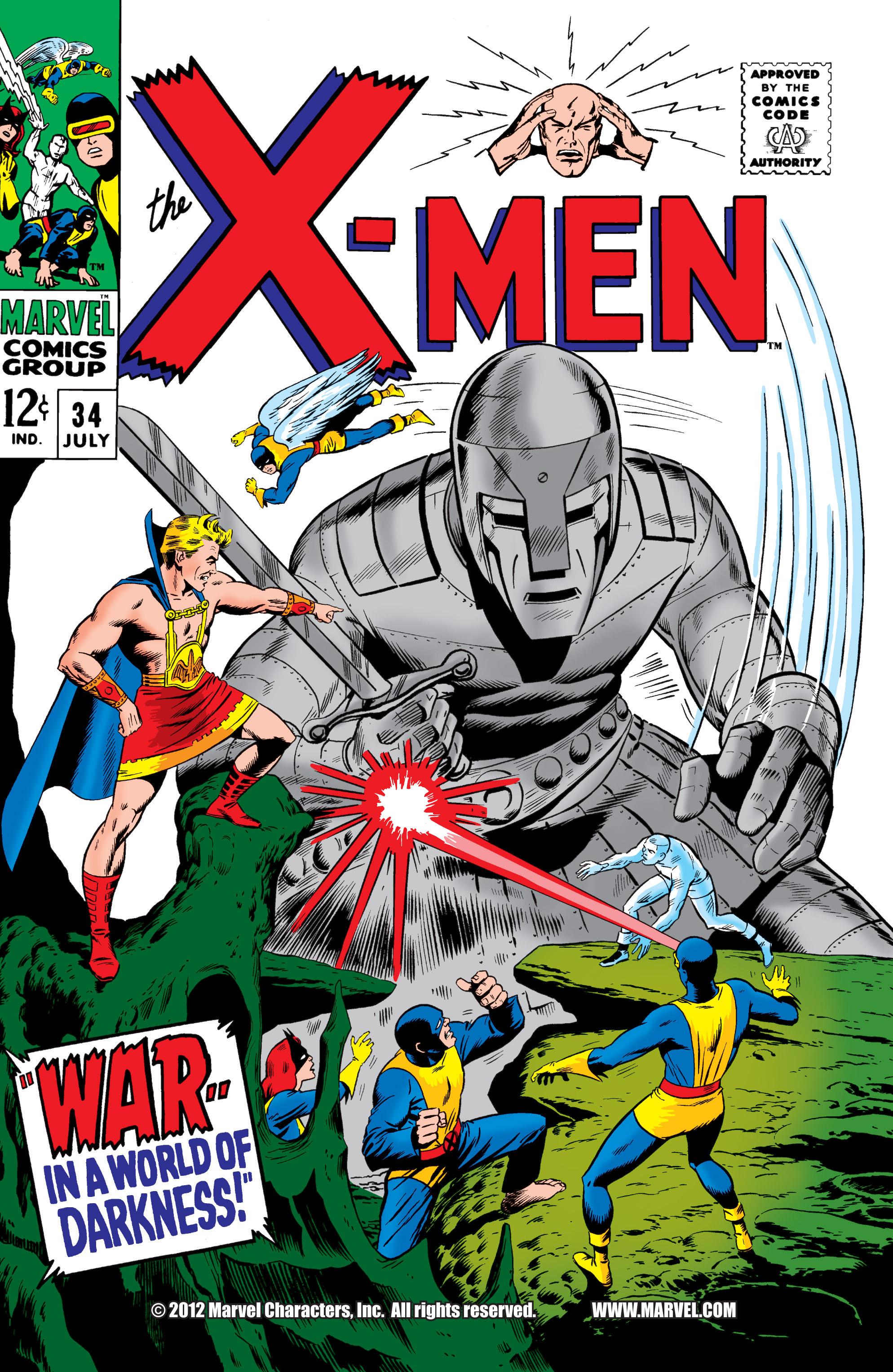 Uncanny X-Men (1963) 34 Page 1