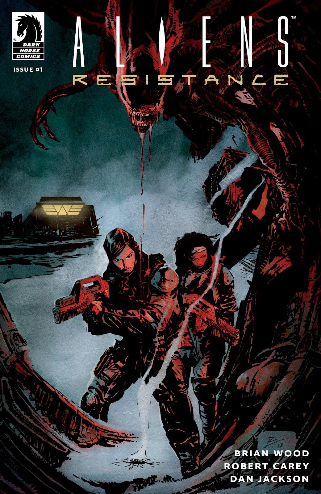 Read online Aliens: Resistance comic -  Issue #1 - 1