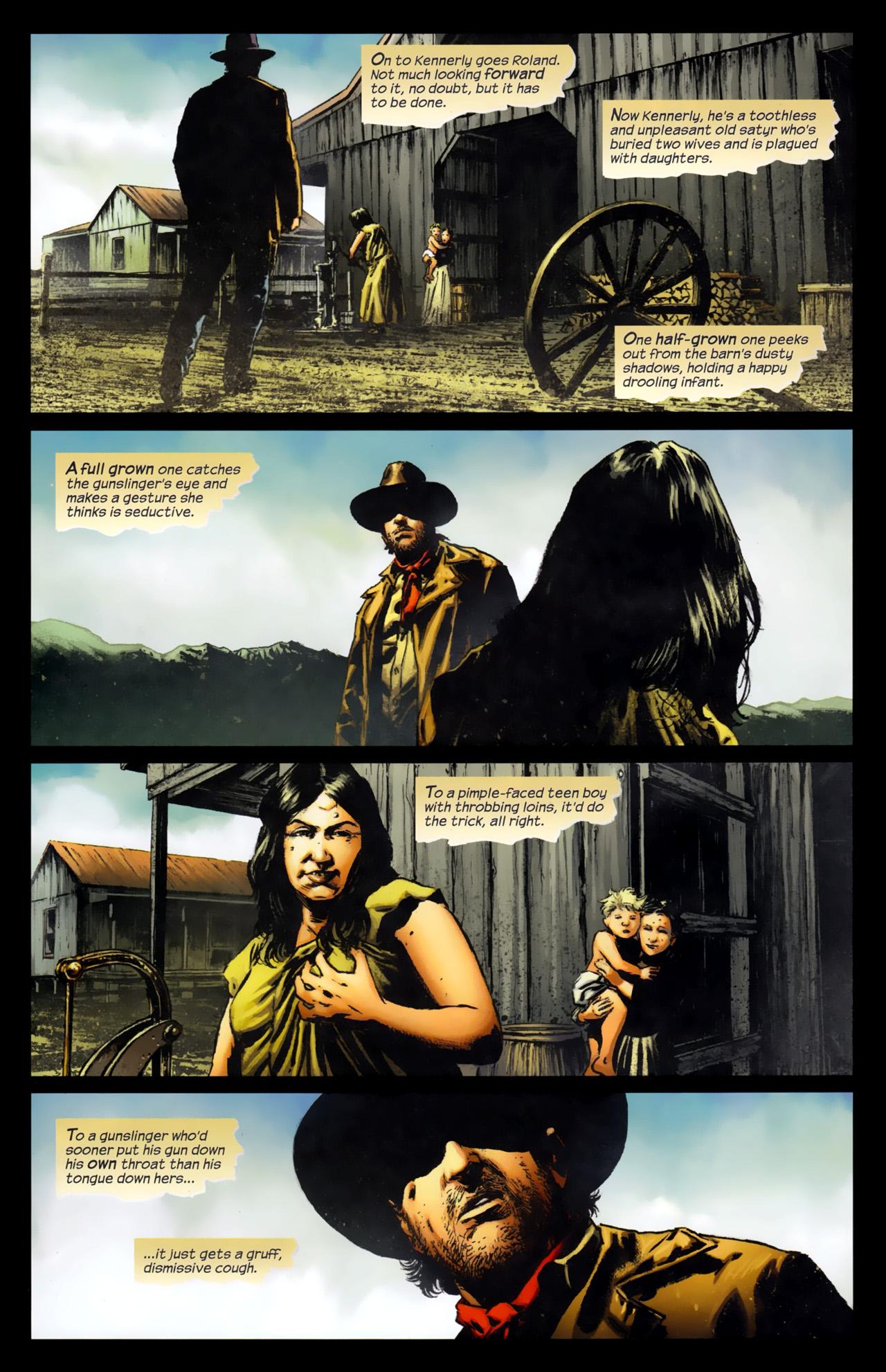 Read online Dark Tower: The Gunslinger - The Battle of Tull comic -  Issue #4 - 5