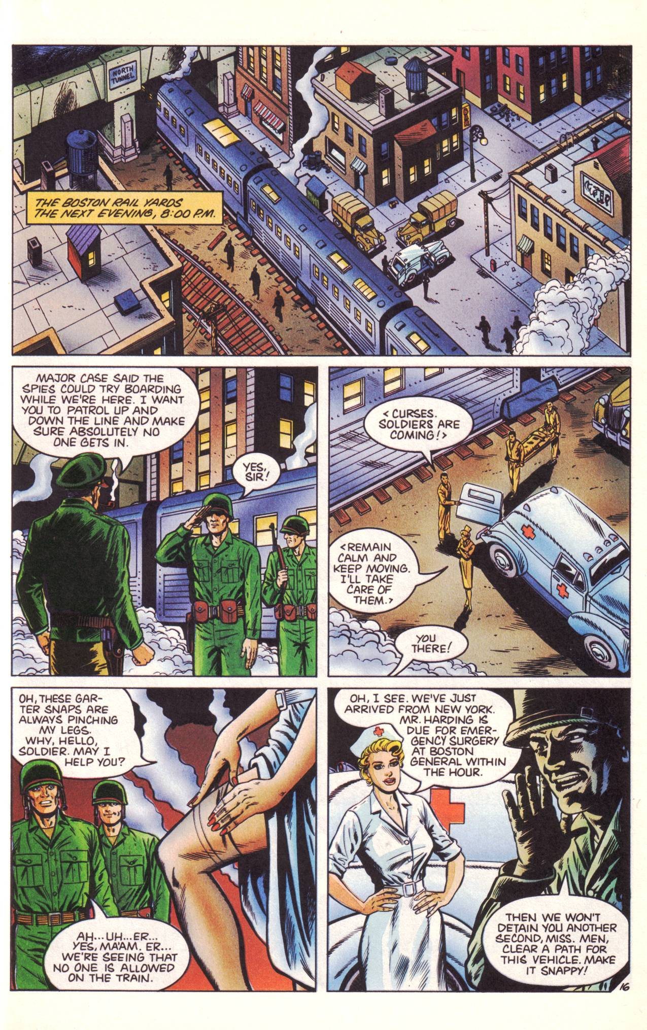 Read online Sting of The Green Hornet comic -  Issue #3 - 17