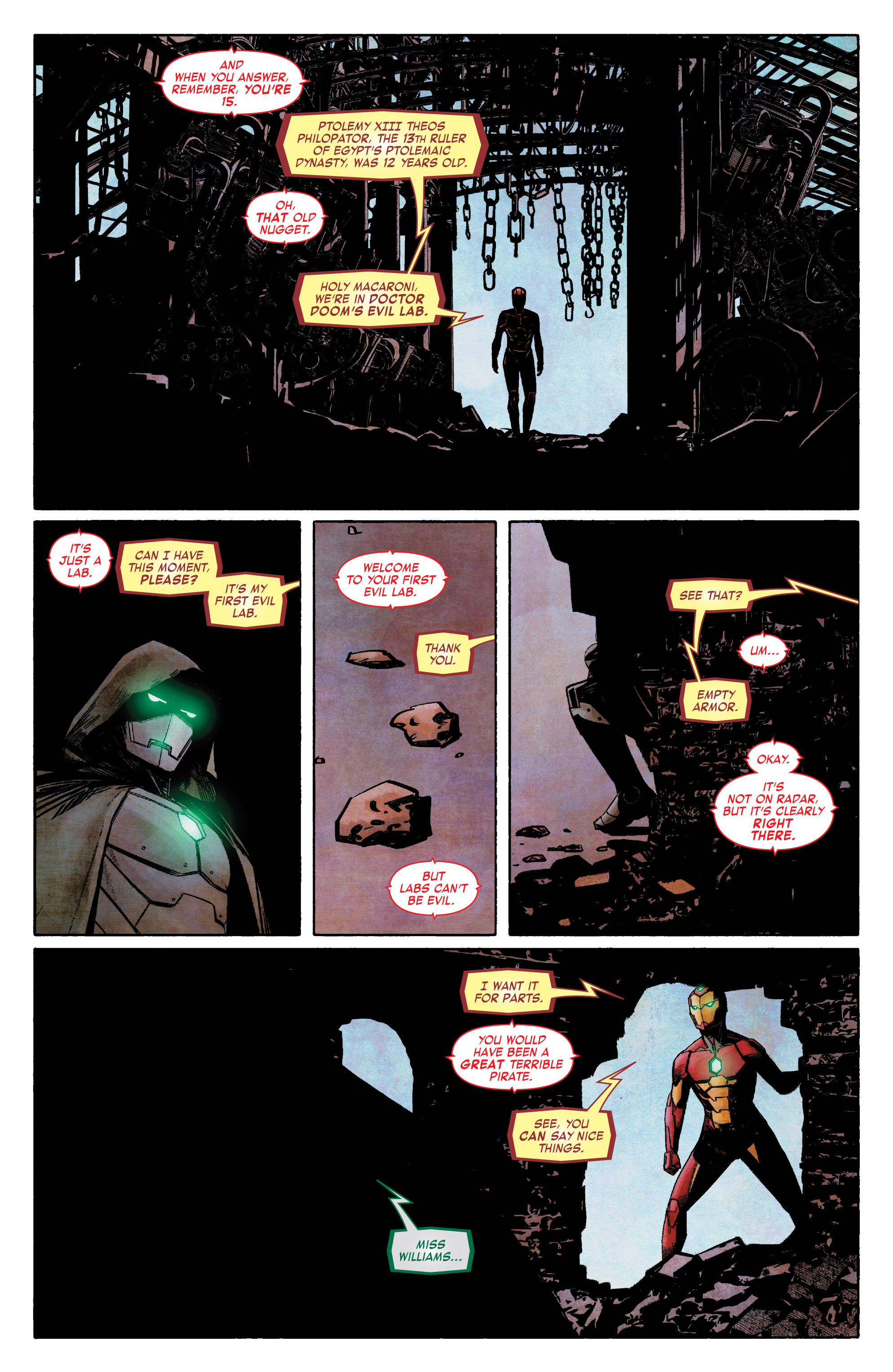 Read online Infamous Iron Man comic -  Issue #8 - 5