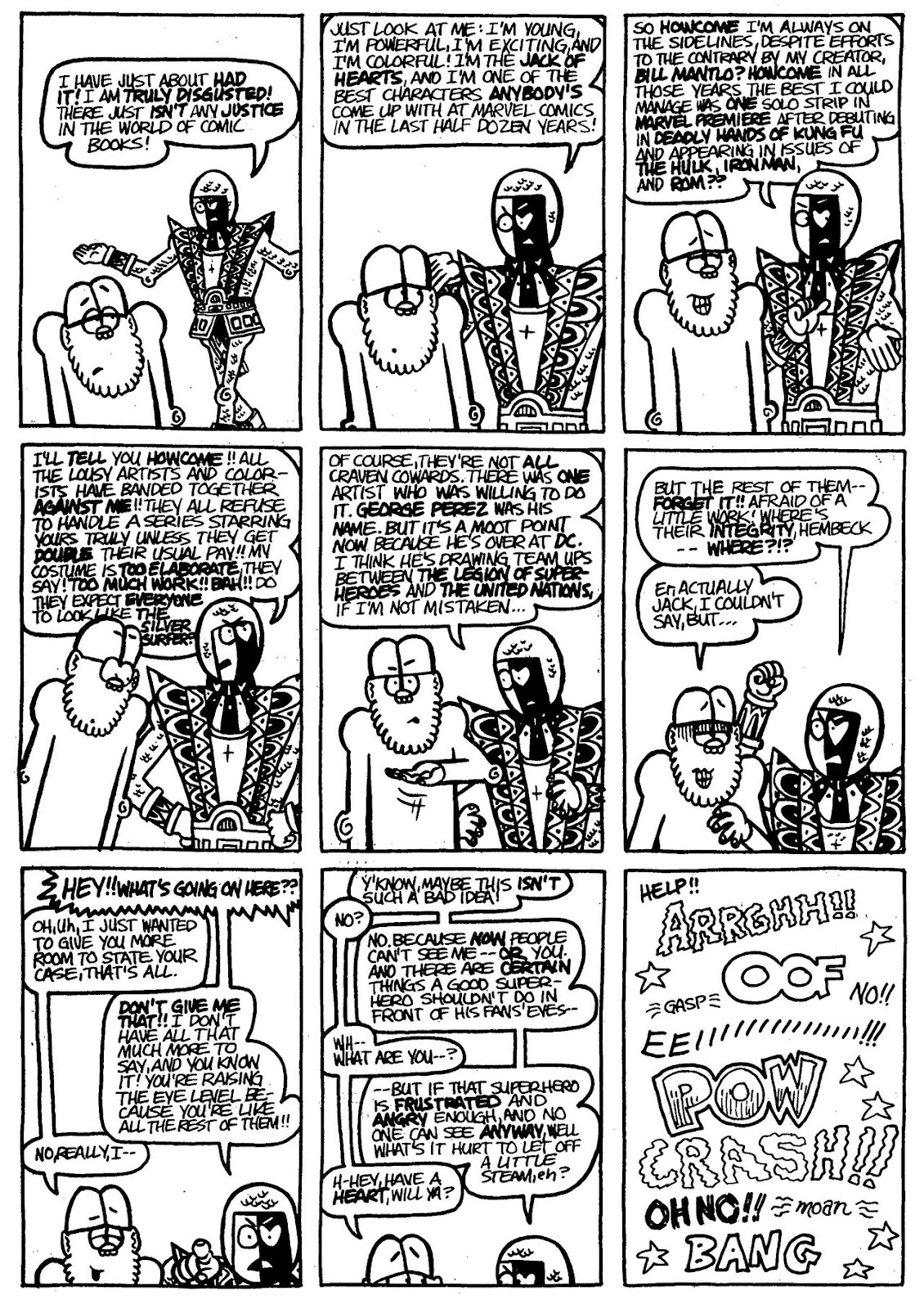 Read online The Nearly Complete Essential Hembeck Archives Omnibus comic -  Issue # TPB (Part 3) - 60