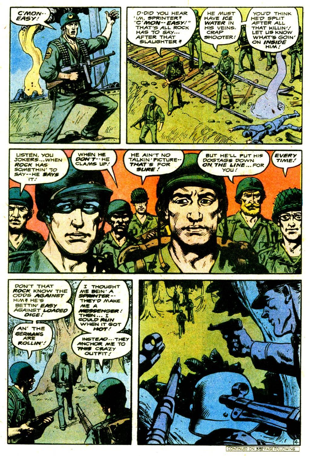 Read online Sgt. Rock comic -  Issue #316 - 6