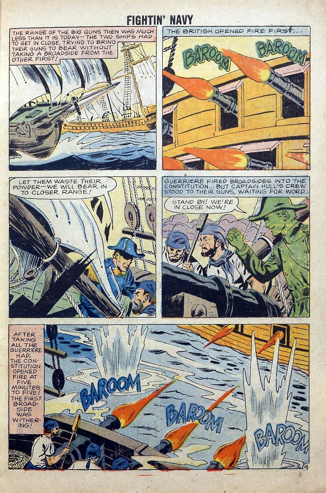 Read online Fightin' Navy comic -  Issue #84 - 7