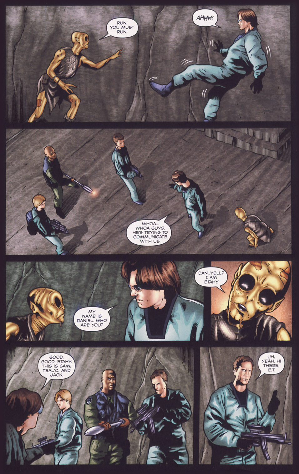 Read online Stargate SG-1: Fall of Rome comic -  Issue #1 - 17