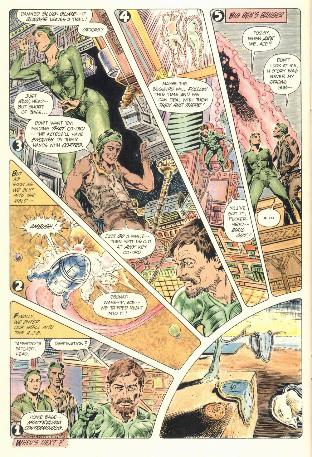 Read online Aztec Ace comic -  Issue #1 - 36