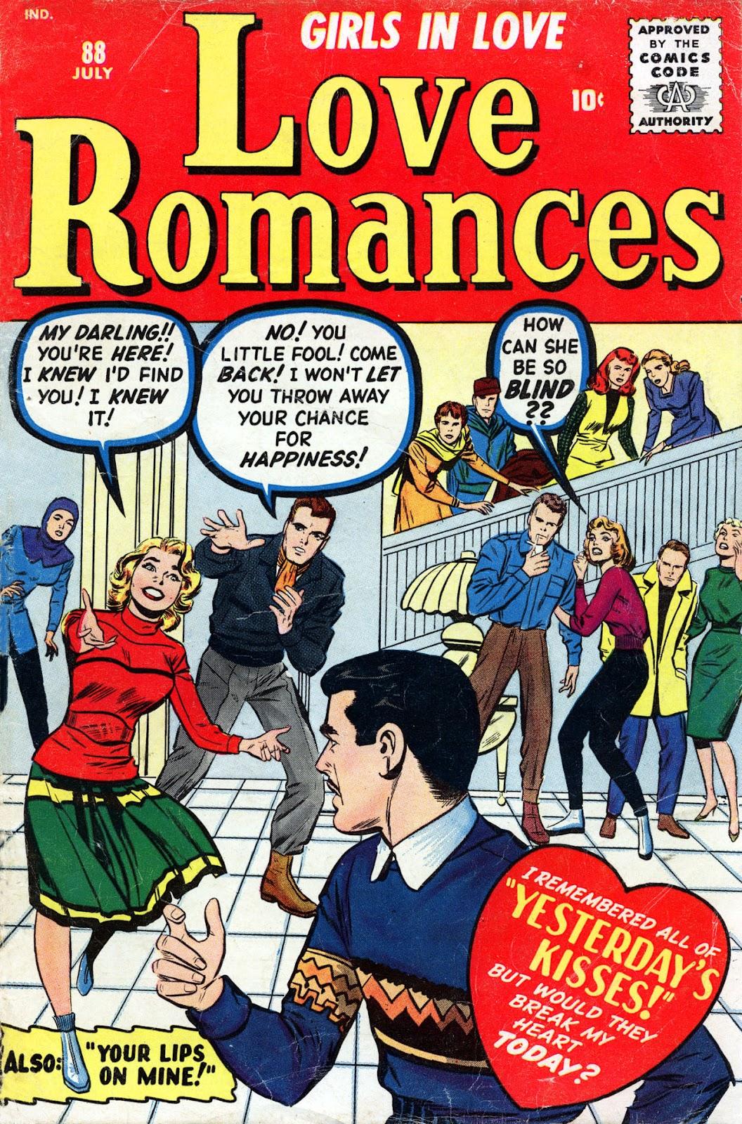 Love Romances (1949) issue 88 - Page 1
