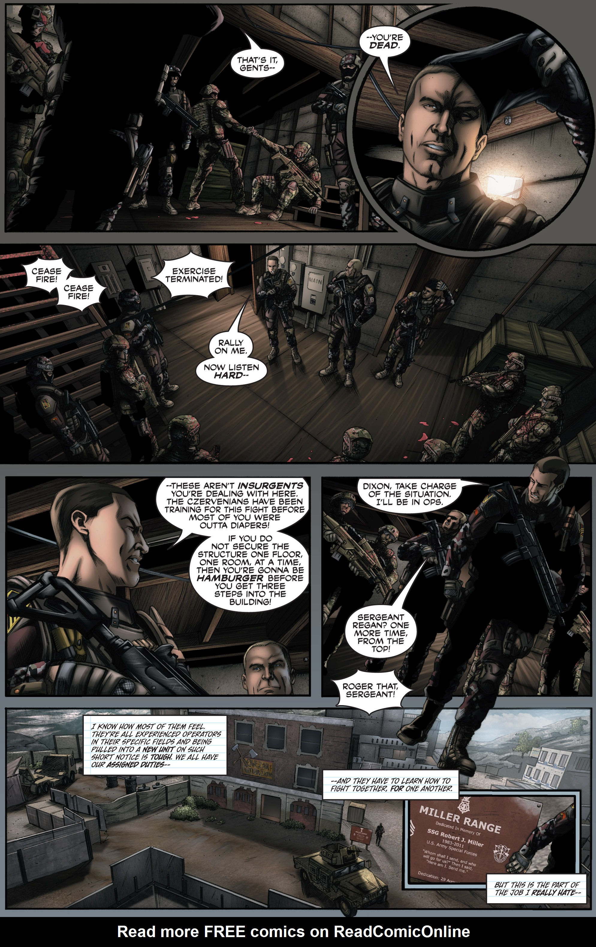Read online America's Army comic -  Issue #8 - 5