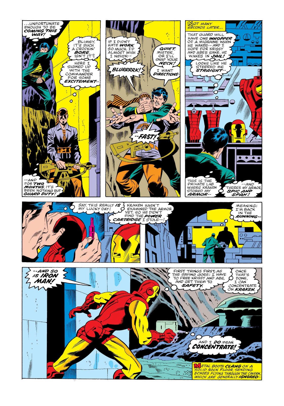 Read online Marvel Masterworks: The Invincible Iron Man comic -  Issue # TPB 11 (Part 3) - 77