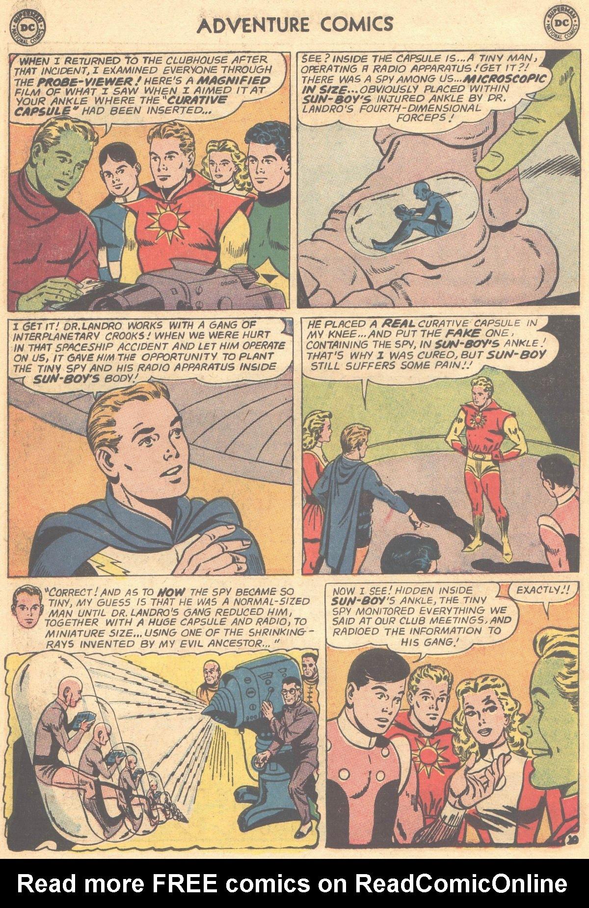 Read online Adventure Comics (1938) comic -  Issue #303 - 30