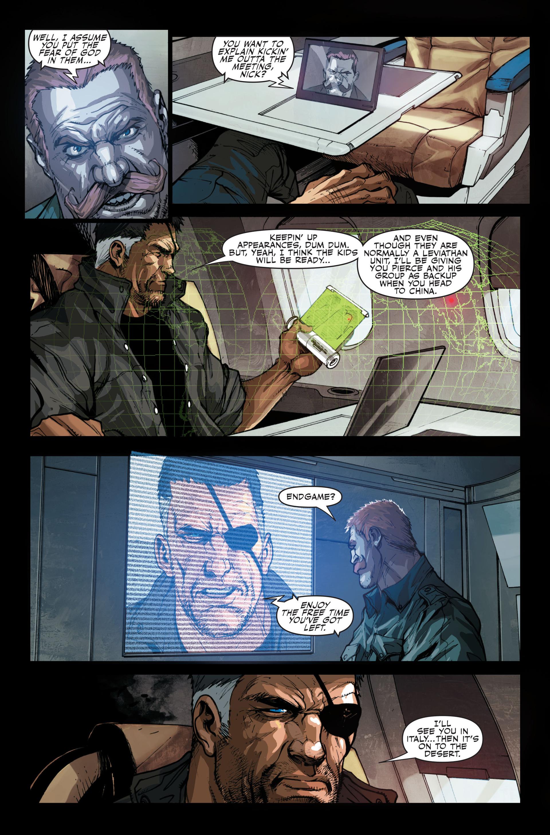 Read online Secret Warriors comic -  Issue #13 - 5