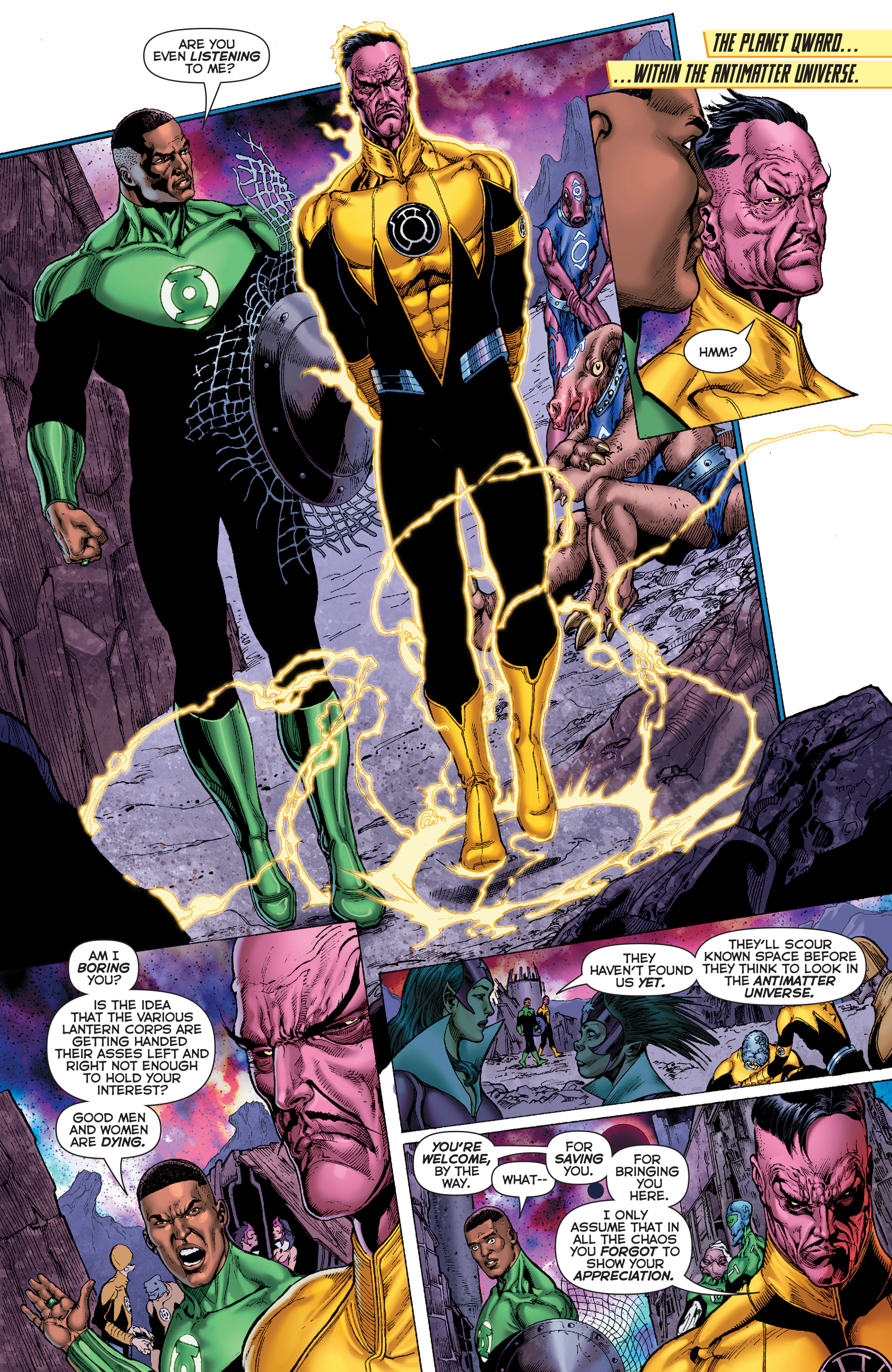 Read online Sinestro comic -  Issue #7 - 7