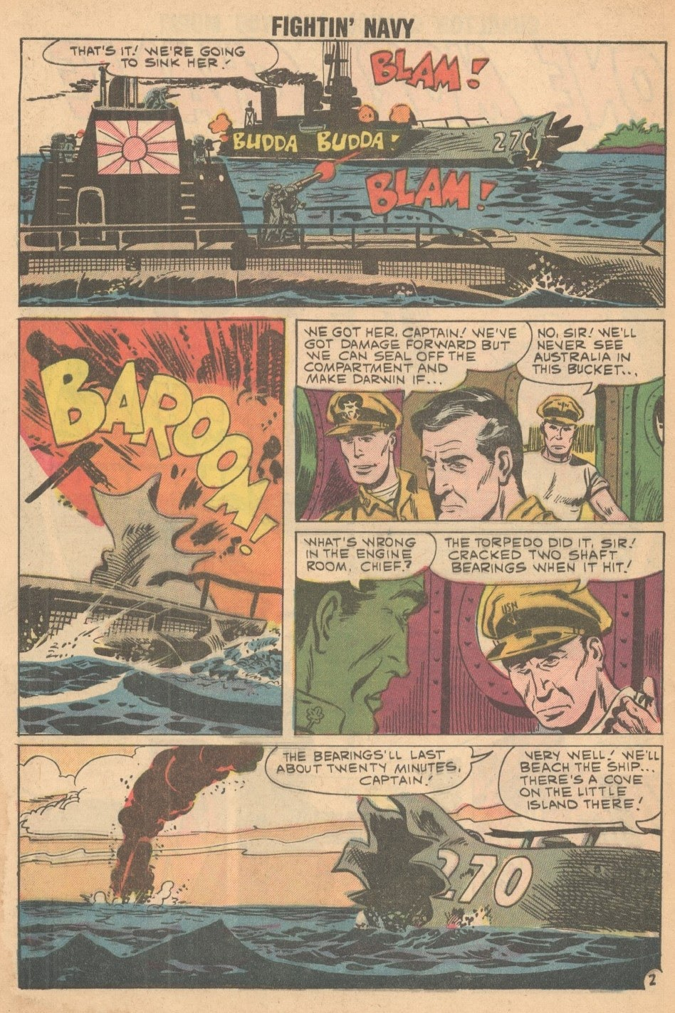 Read online Fightin' Navy comic -  Issue #93 - 4