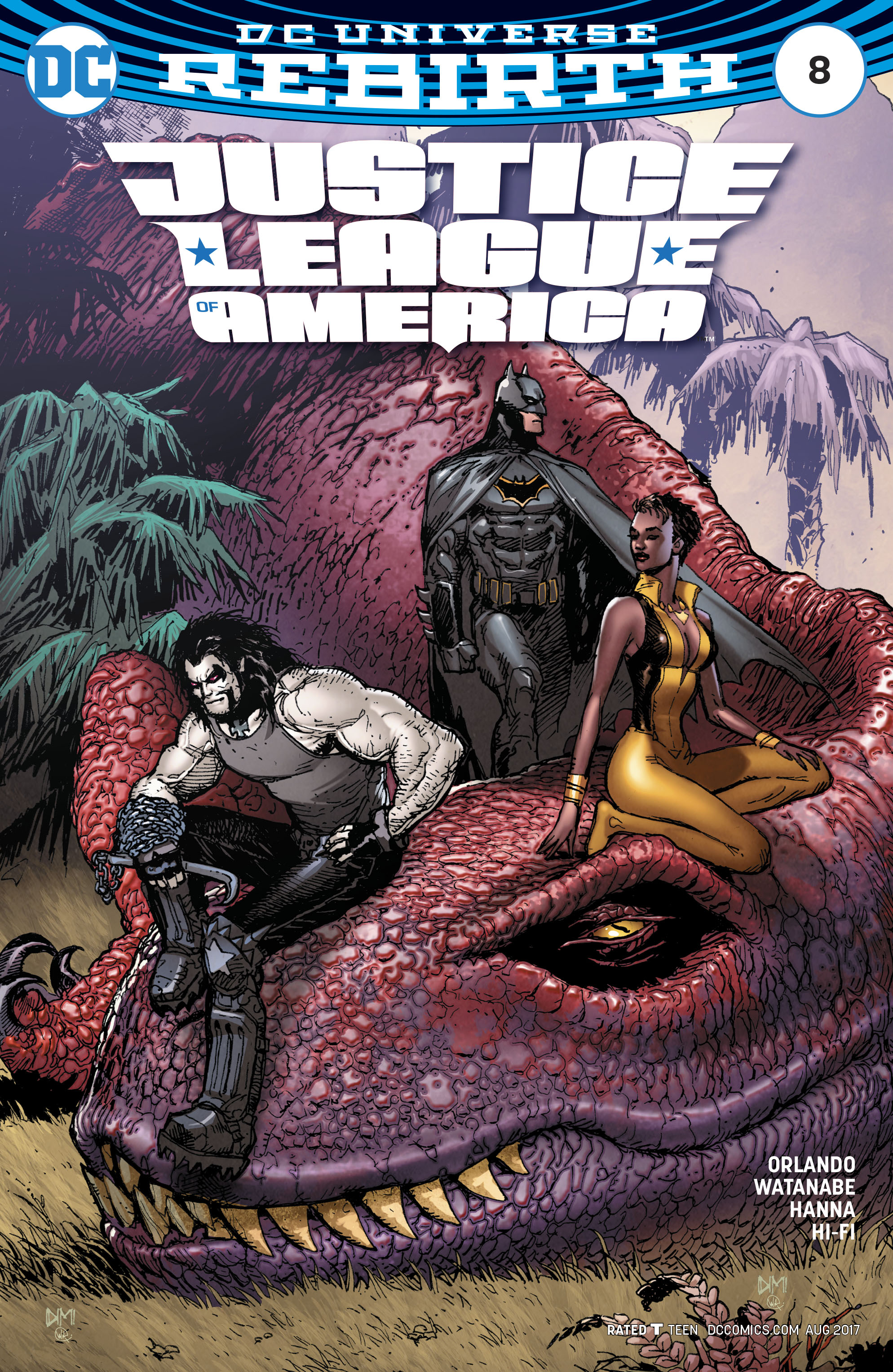 Read online Justice League of America (2017) comic -  Issue #8 - 3