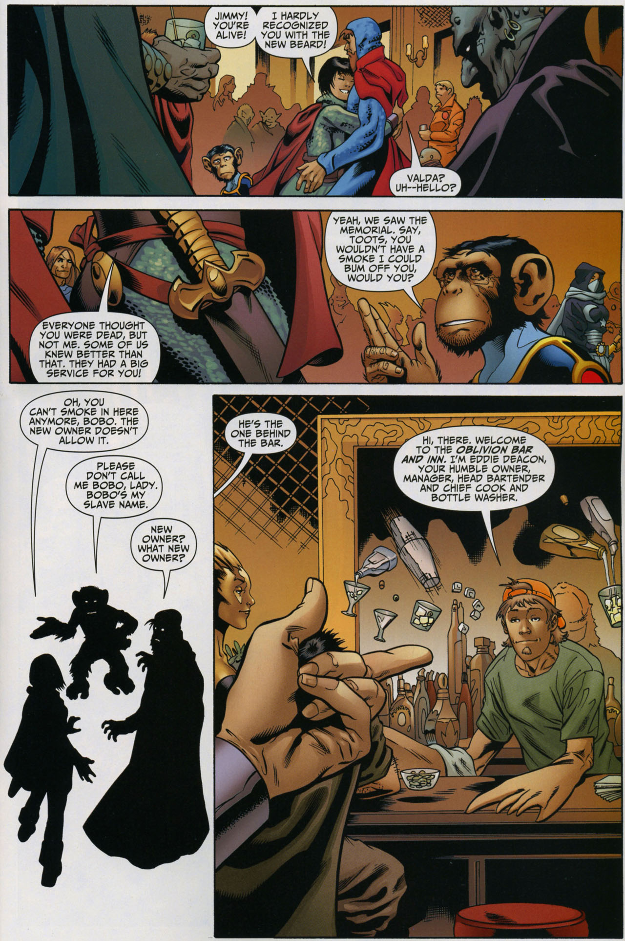 Read online Shadowpact comic -  Issue #5 - 17