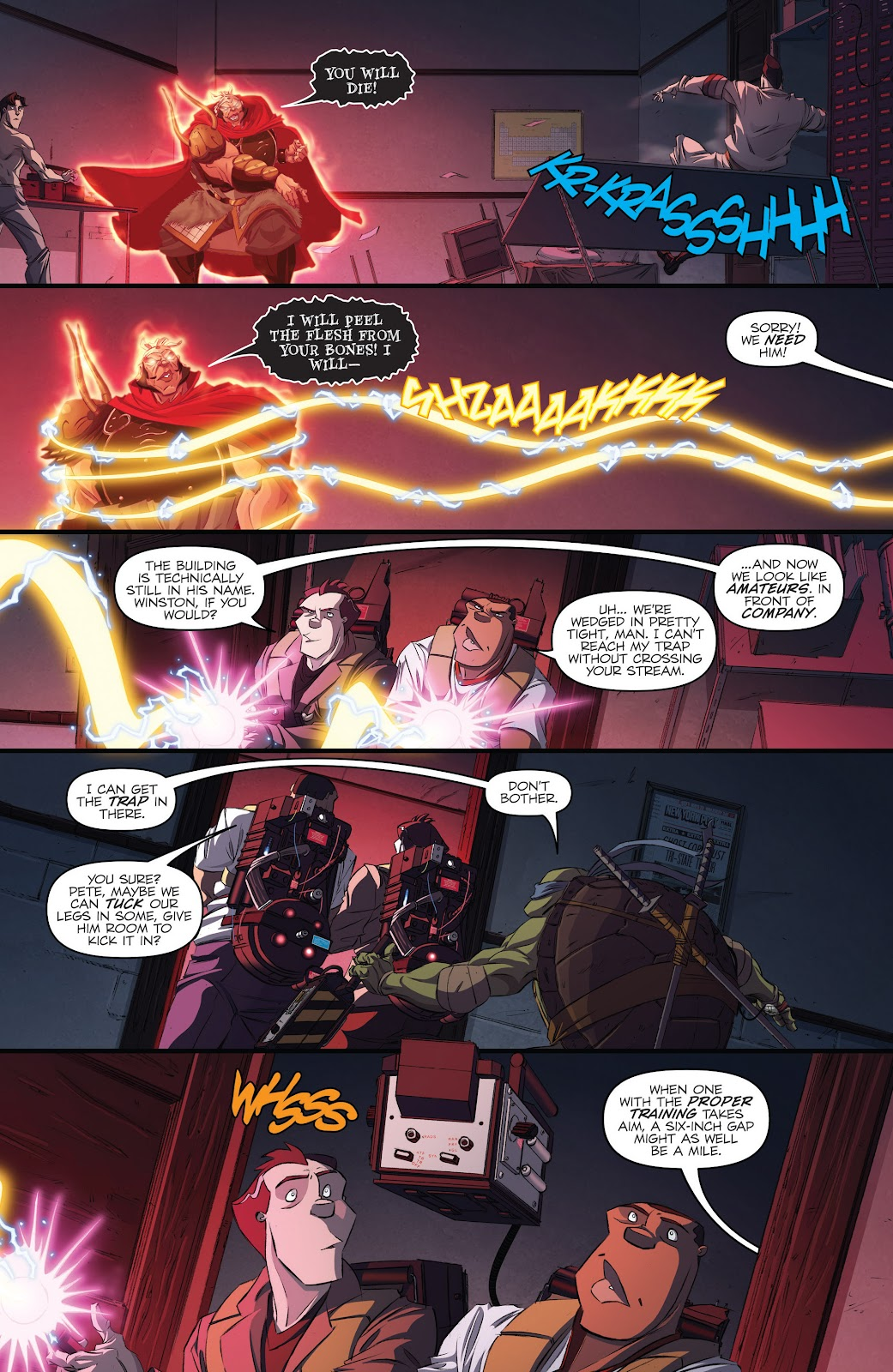 Read online Teenage Mutant Ninja Turtles: The IDW Collection comic -  Issue # TPB 5 (Part 3) - 51