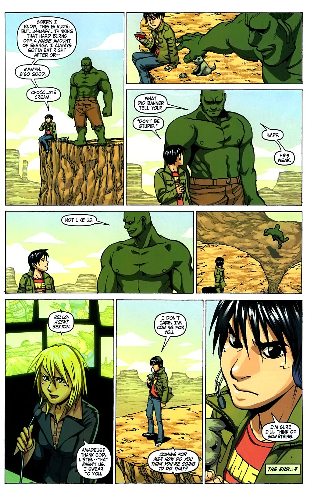 Read online Amazing Fantasy (2004) comic -  Issue #15 - 10