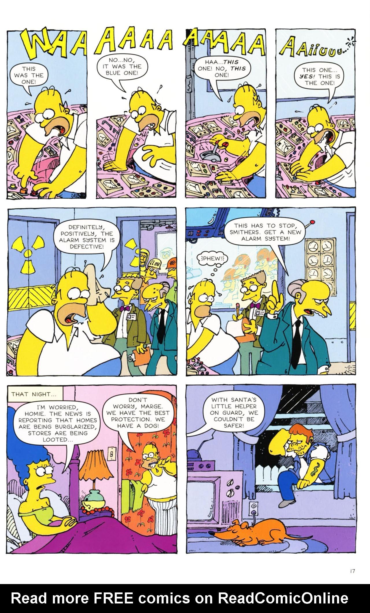 Read online Simpsons Comics comic -  Issue #163 - 14
