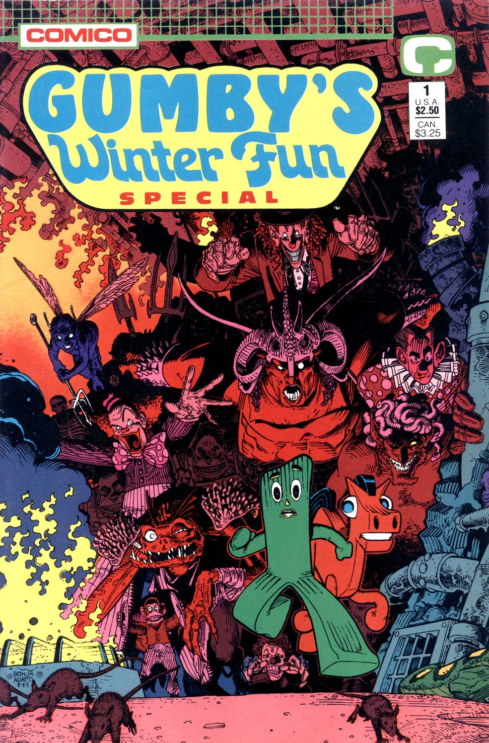 Gumbys Winter Fun Special issue Full - Page 1