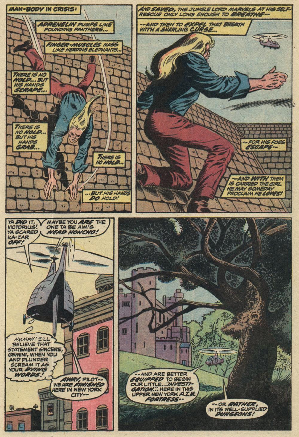 Read online Astonishing Tales (1970) comic -  Issue #19 - 9