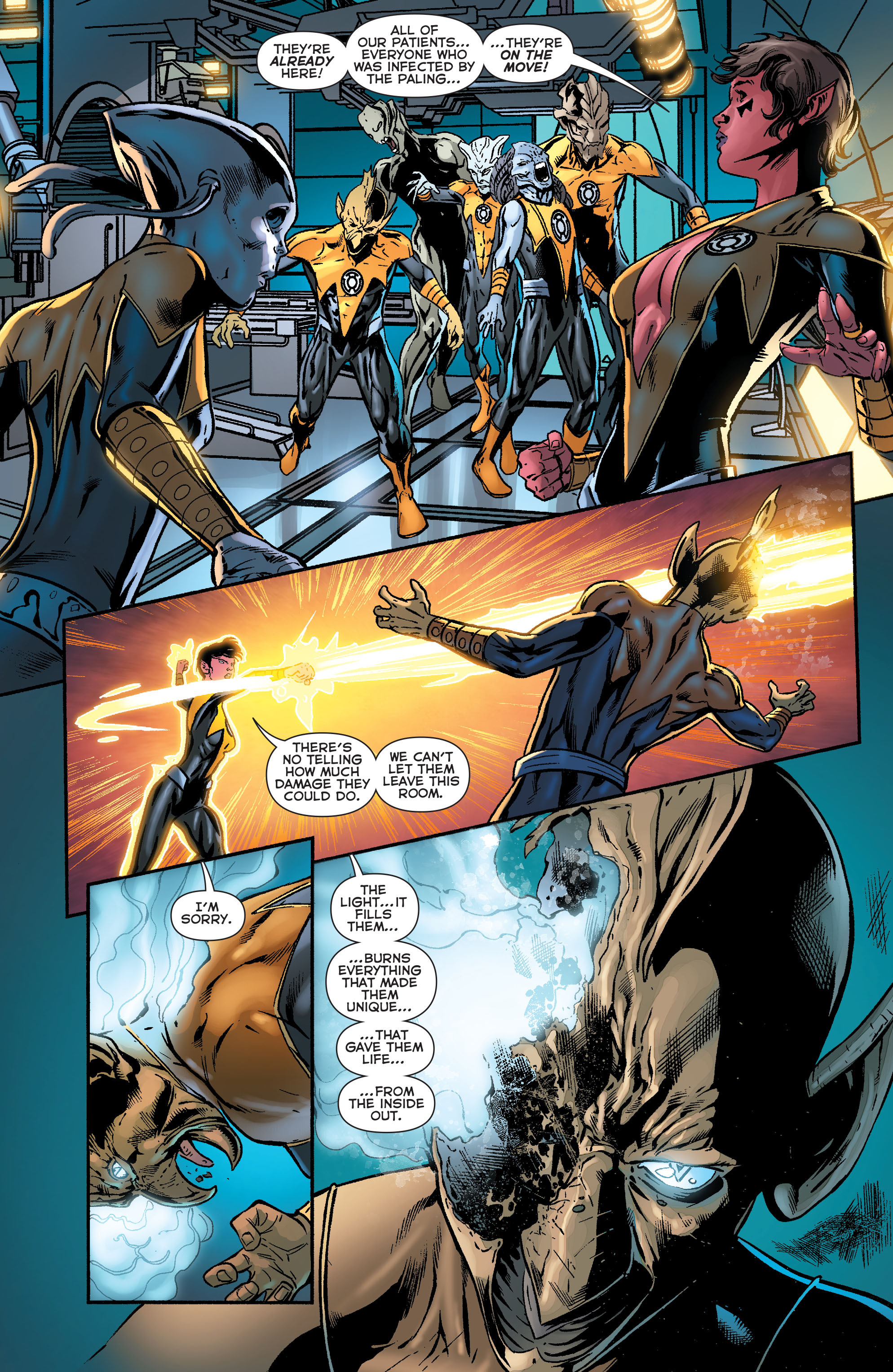 Read online Sinestro comic -  Issue #18 - 10