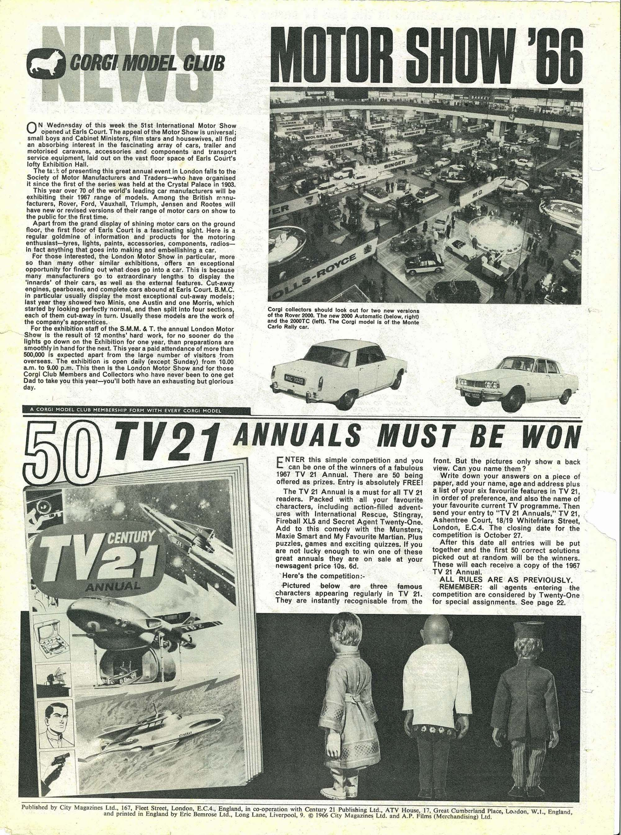 Read online TV Century 21 (TV 21) comic -  Issue #92 - 26