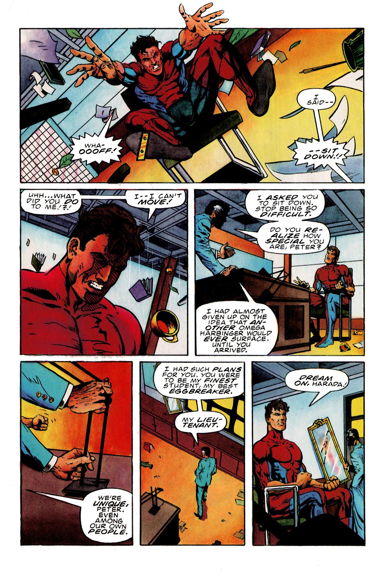 Read online Harbinger (1992) comic -  Issue #25 - 20