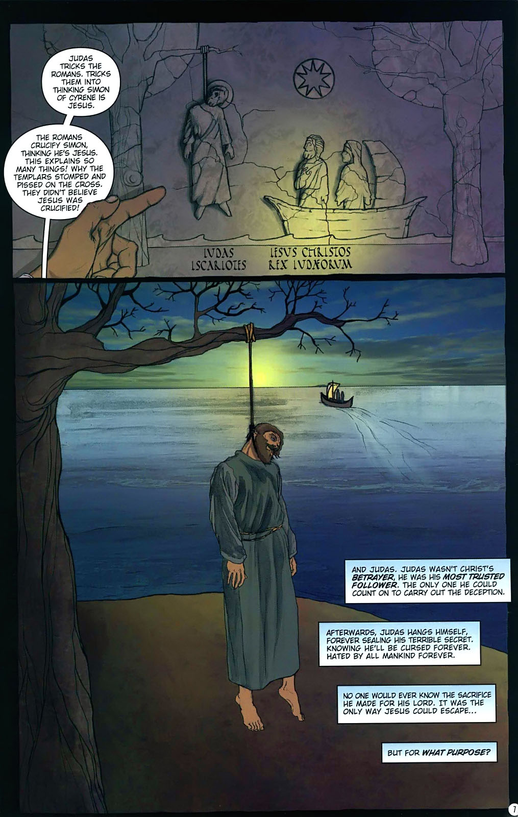 Read online Rex Mundi comic -  Issue #15 - 11