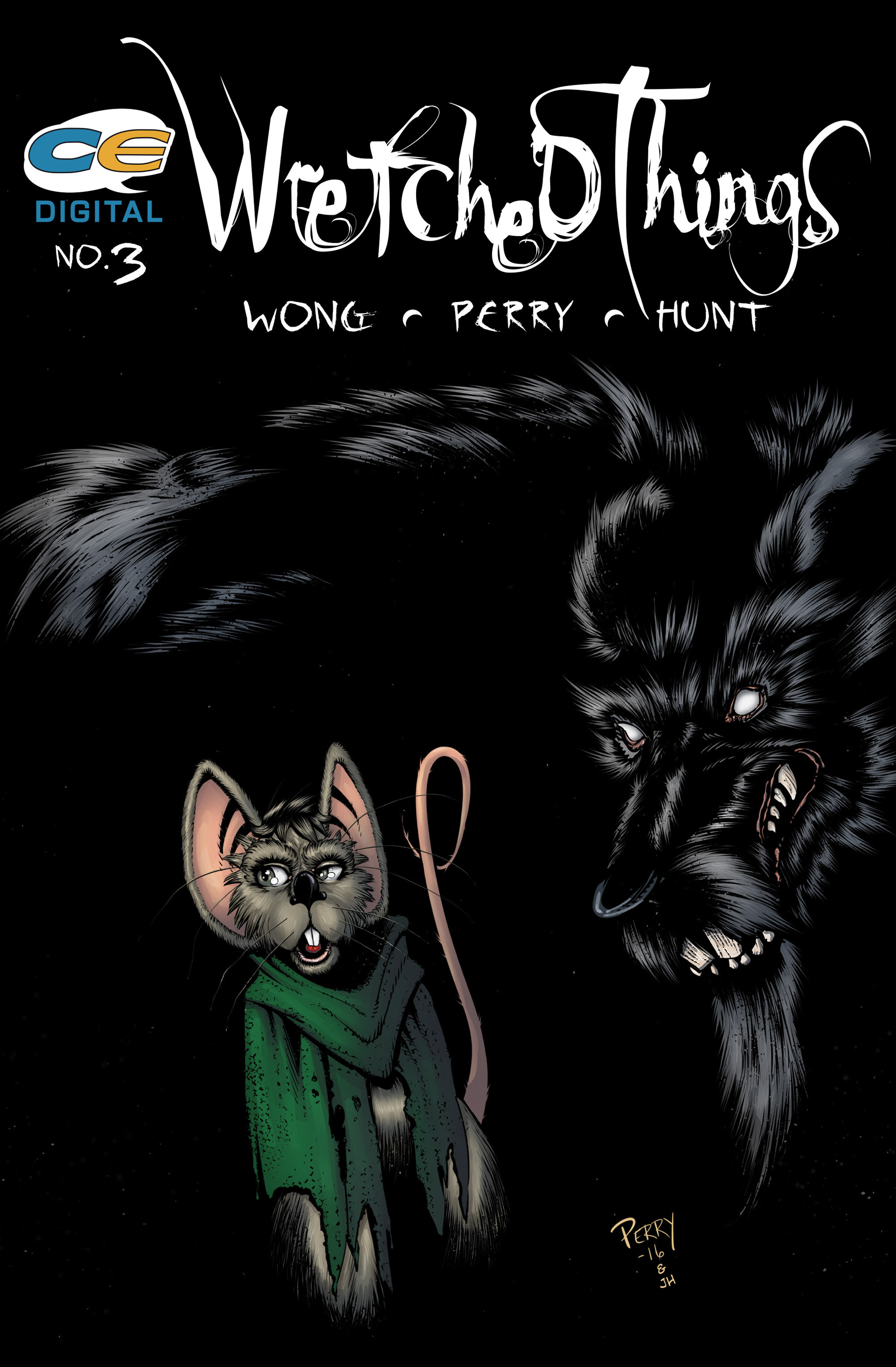 Read online Wretched Things comic -  Issue #3 - 1
