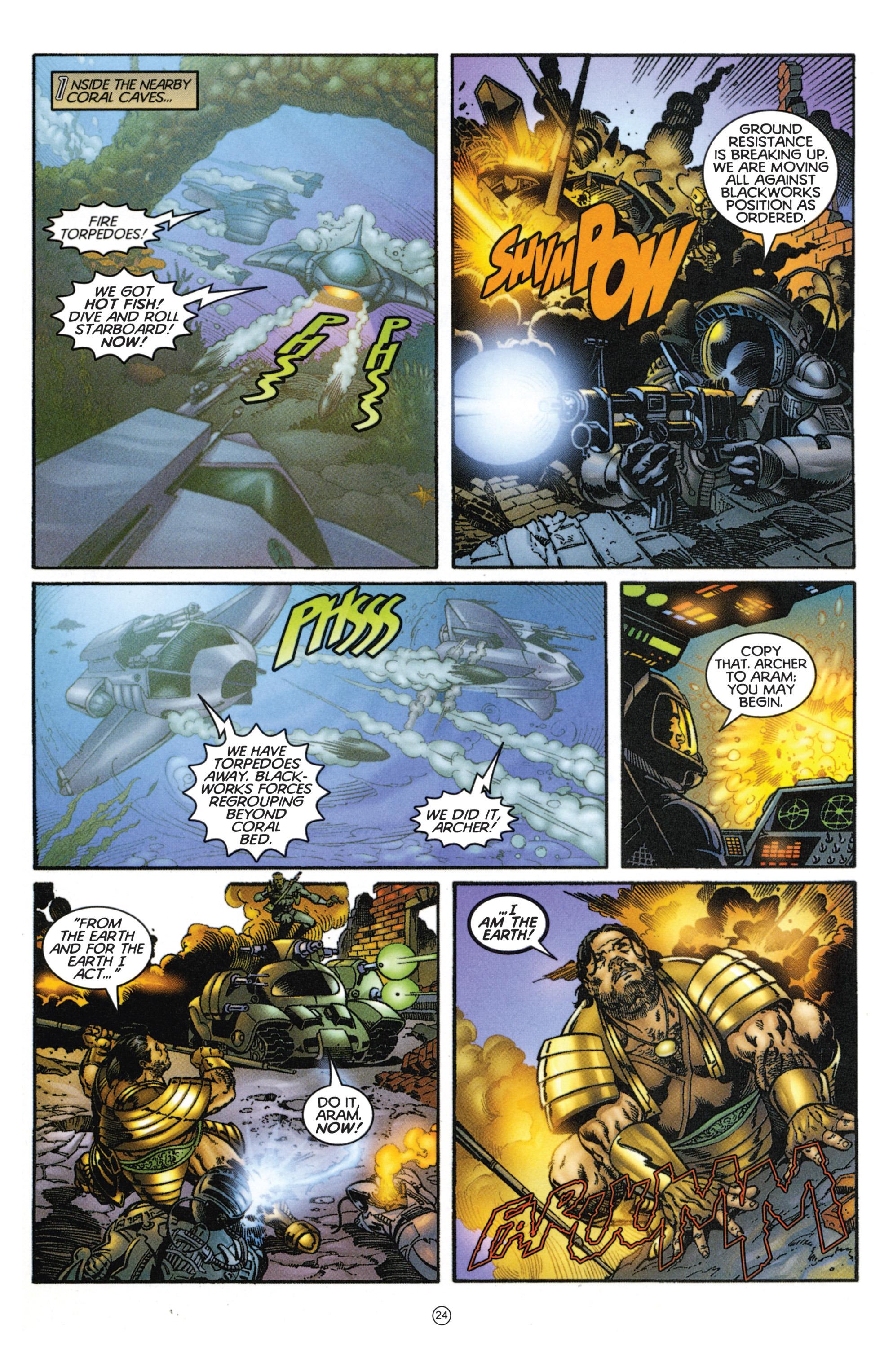 Read online Eternal Warriors comic -  Issue # Issue Mog - 21