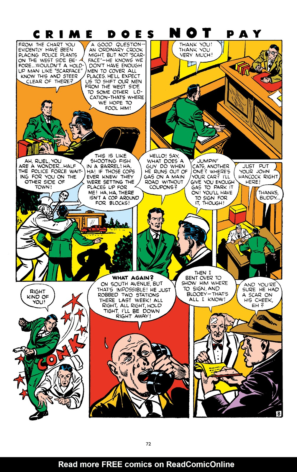 Read online Crime Does Not Pay Archives comic -  Issue # TPB 4 (Part 1) - 72
