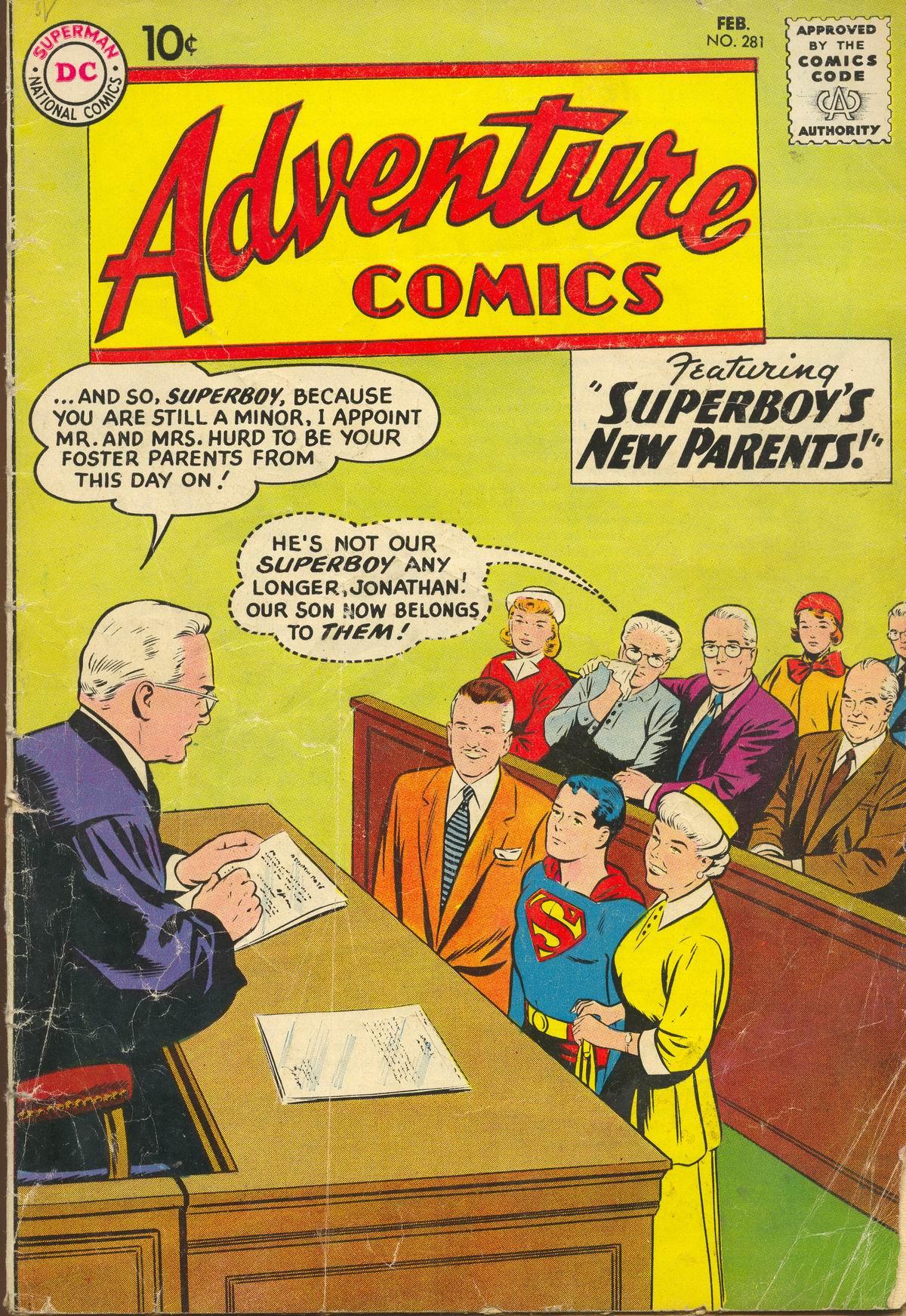 Read online Adventure Comics (1938) comic -  Issue #281 - 1