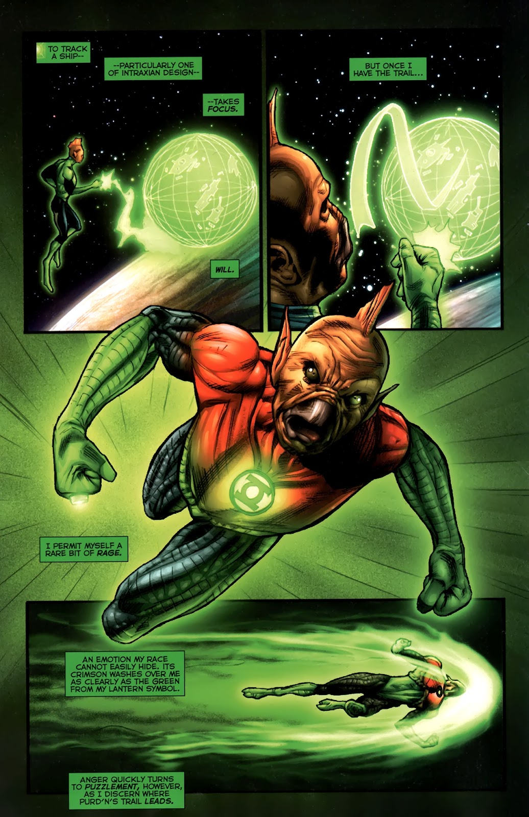 Read online Green Lantern Movie Prequel: Tomar-Re comic -  Issue # Full - 7