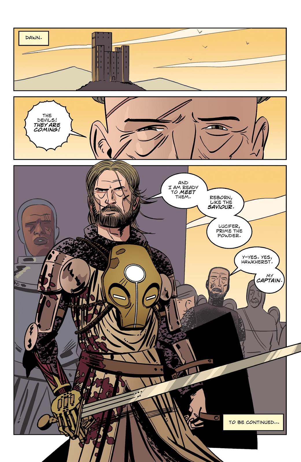 Read online Dark Ages comic -  Issue #3 - 24