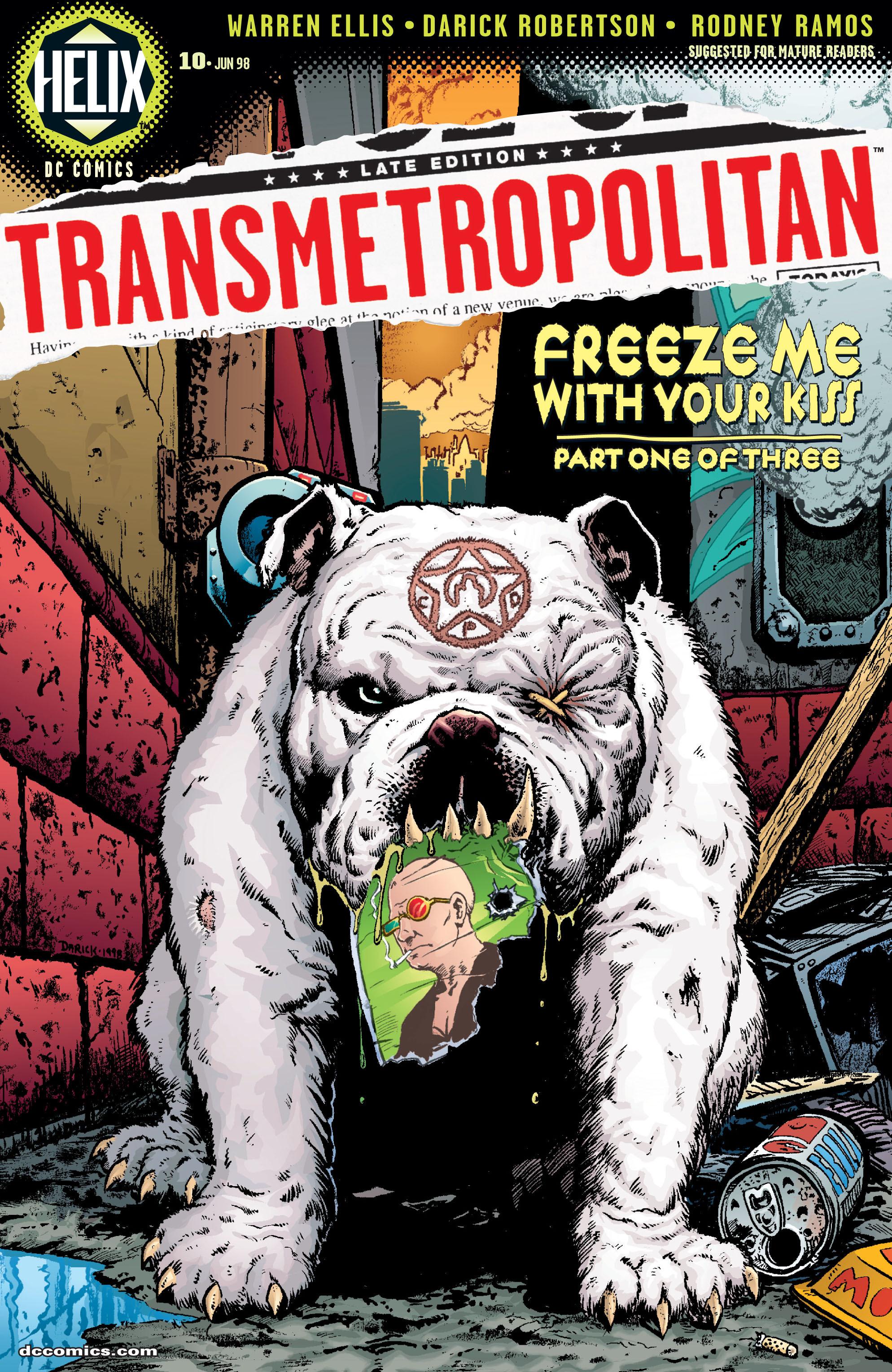 Transmetropolitan issue 10 - Page 1