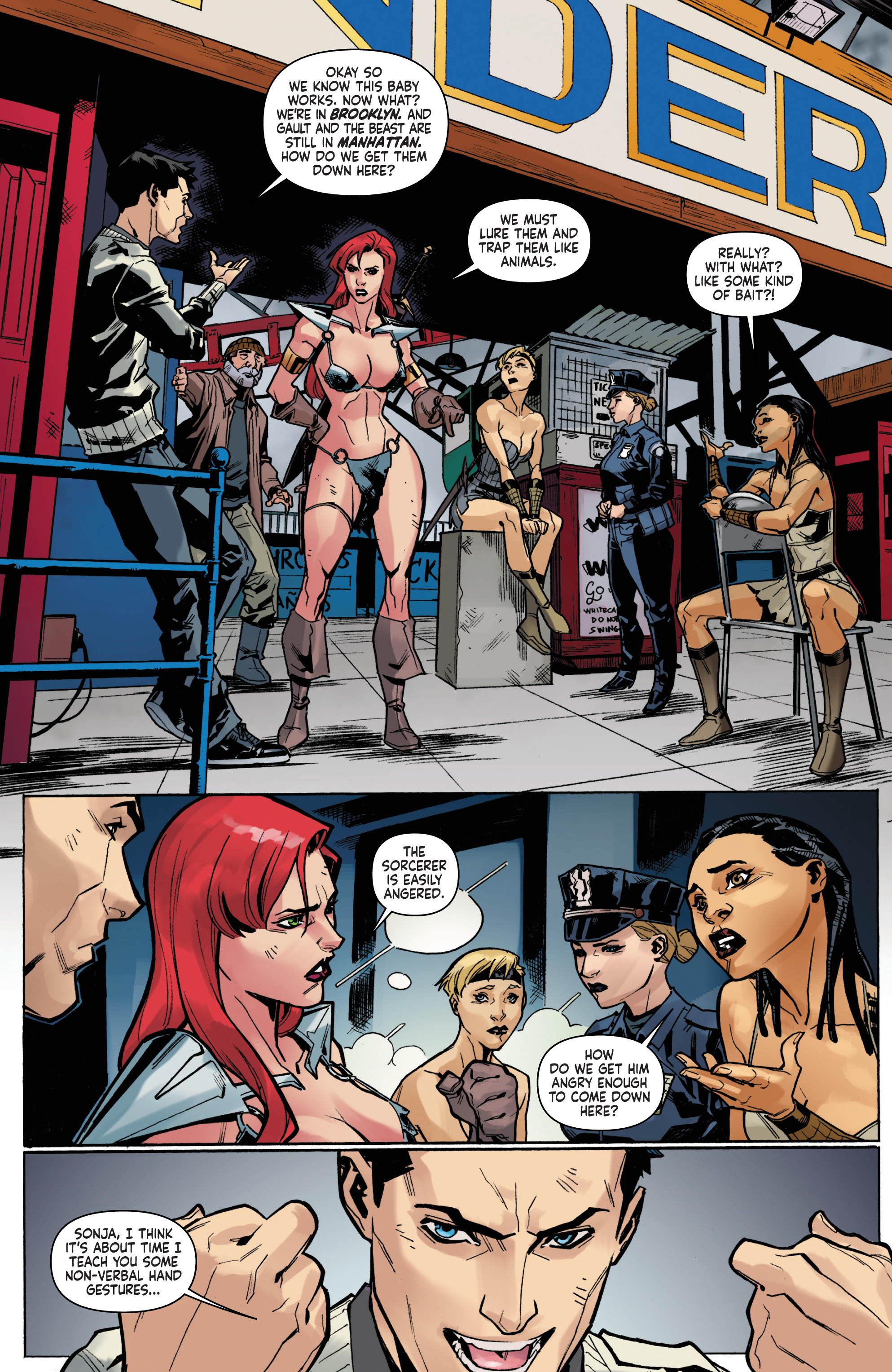 Read online Red Sonja Vol. 4 comic -  Issue #5 - 20