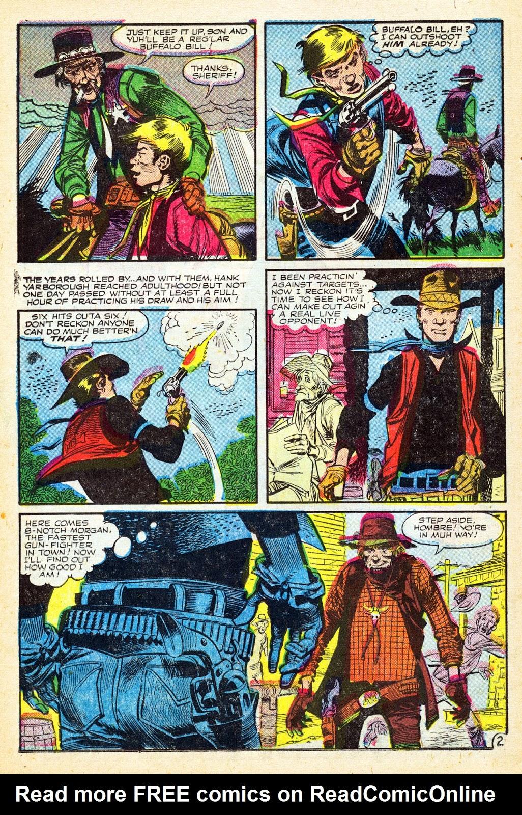 Gunsmoke Western issue 37 - Page 22