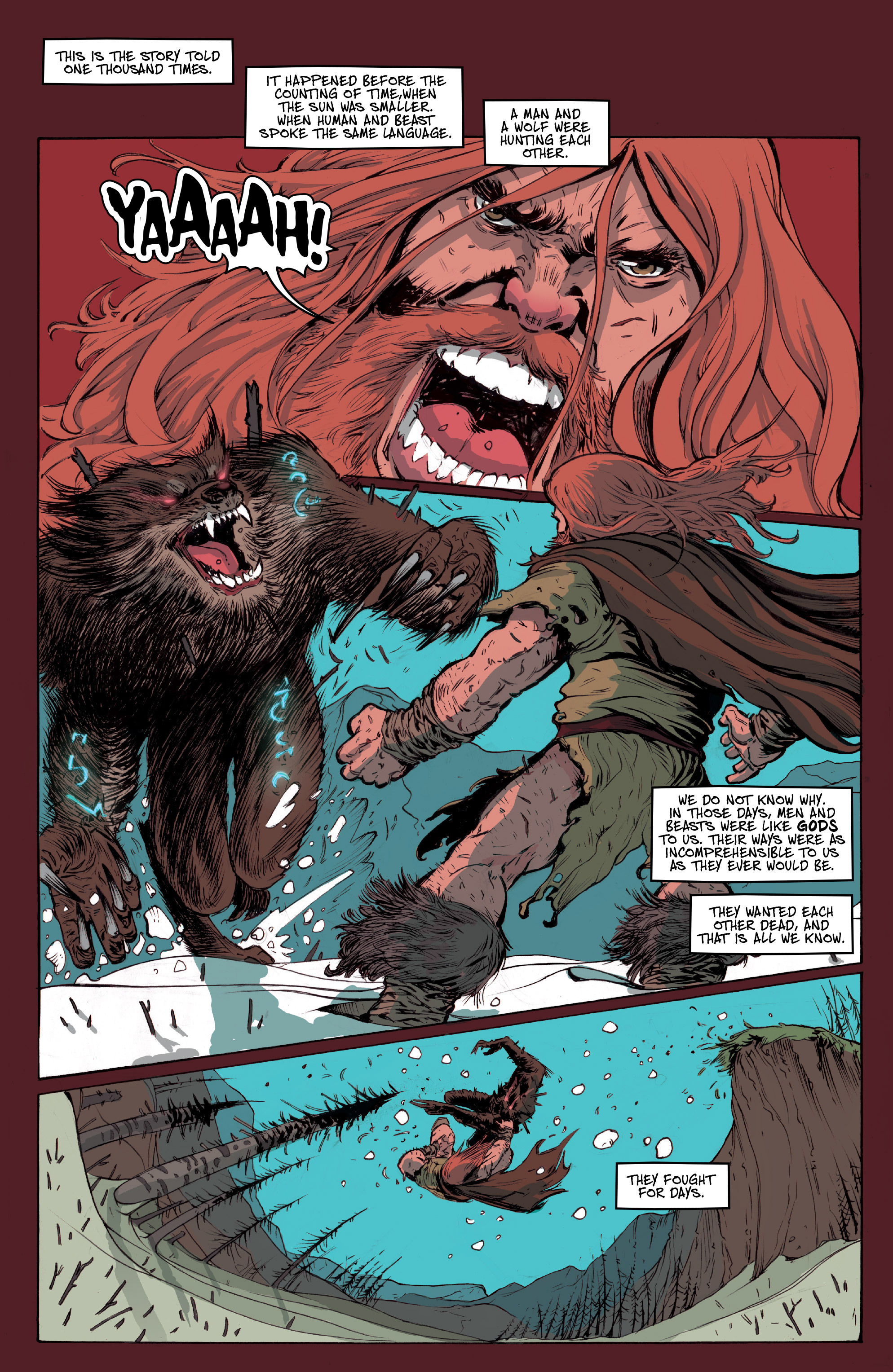 Read online Ghost Wolf comic -  Issue #1 - 3