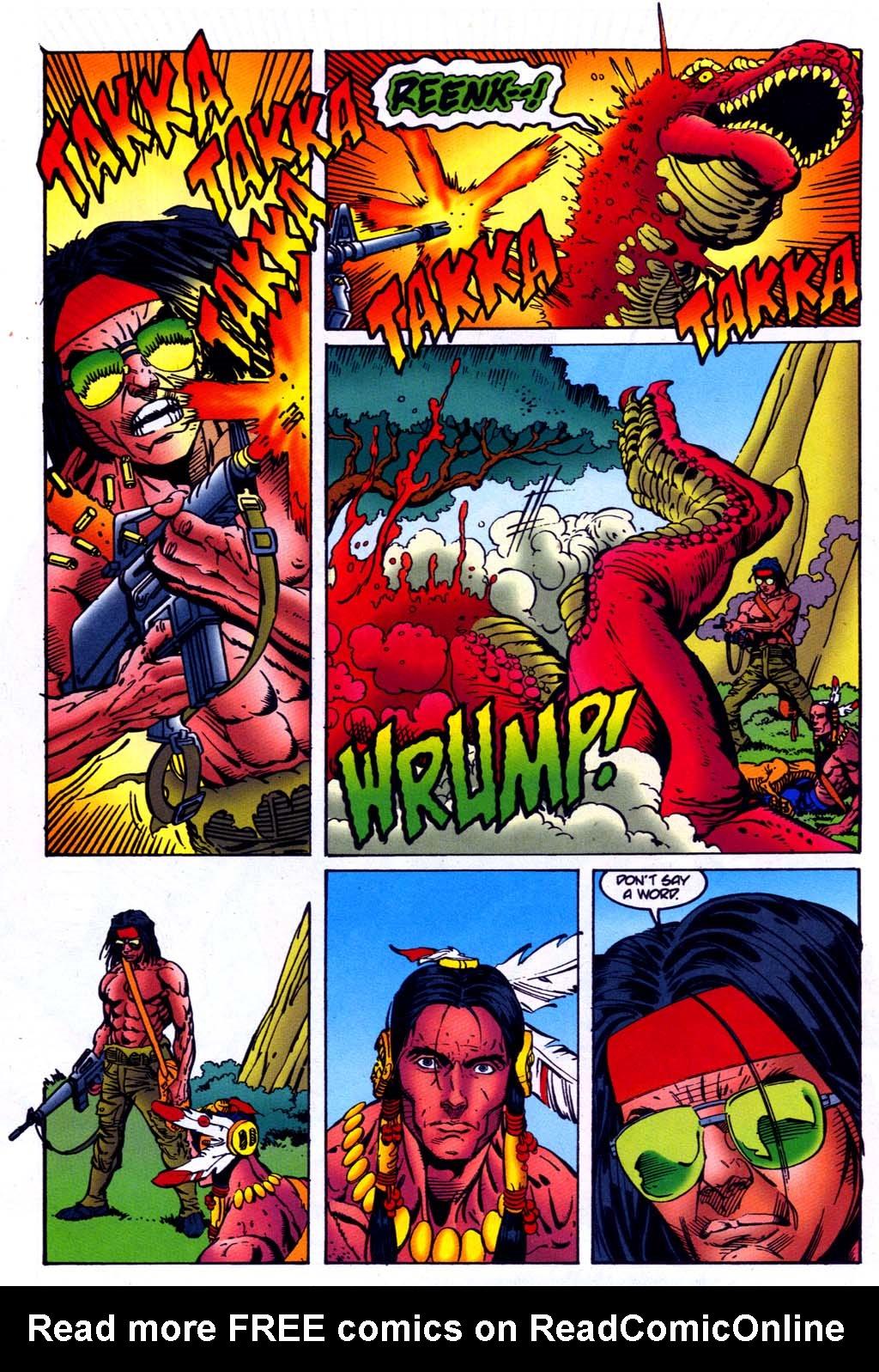 Read online Turok, Dinosaur Hunter (1993) comic -  Issue #47 - 21