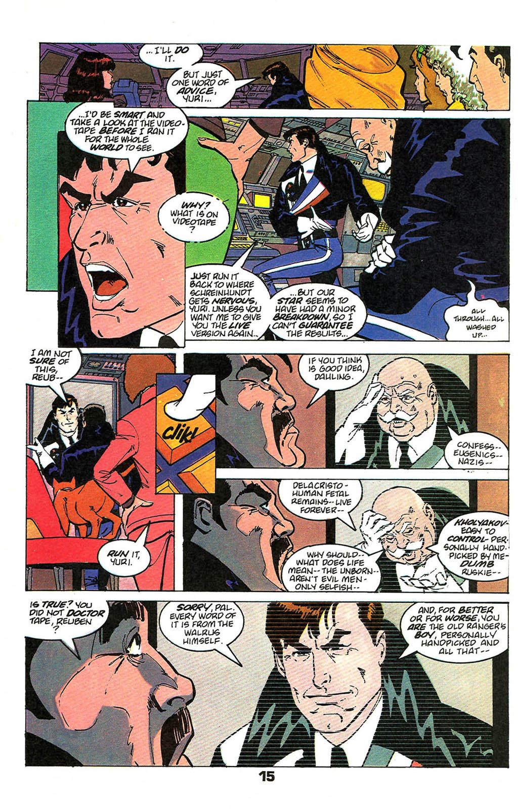Read online American Flagg! comic -  Issue #49 - 19