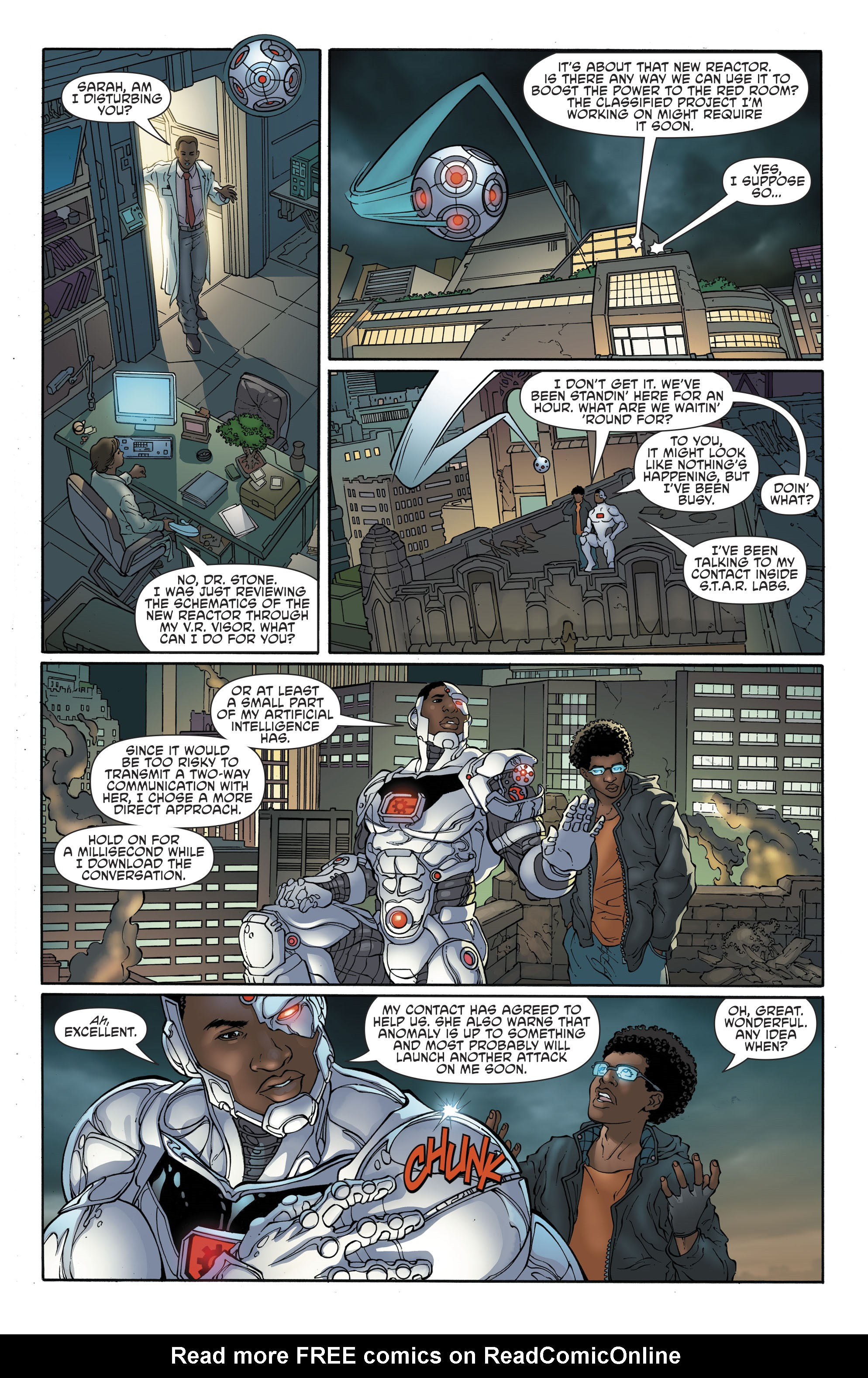 Read online Cyborg (2016) comic -  Issue #13 - 7