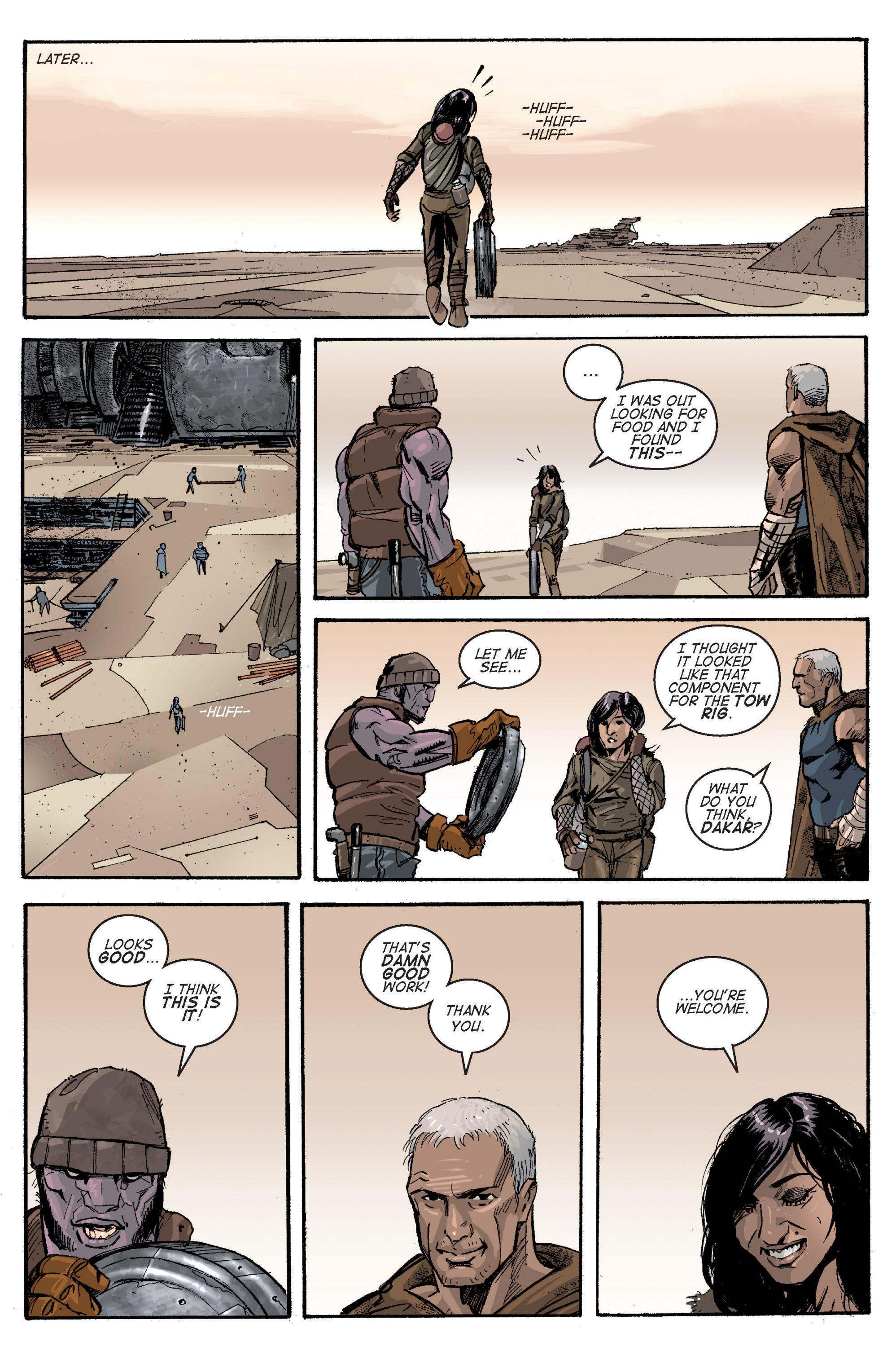 Read online Planetoid comic -  Issue # TPB - 92