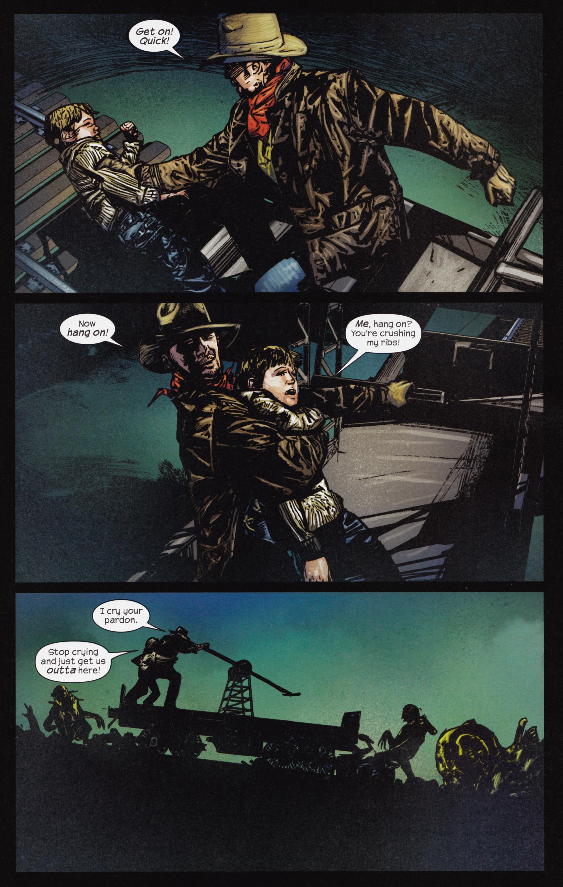 Read online Dark Tower: The Gunslinger - The Man in Black comic -  Issue #3 - 12
