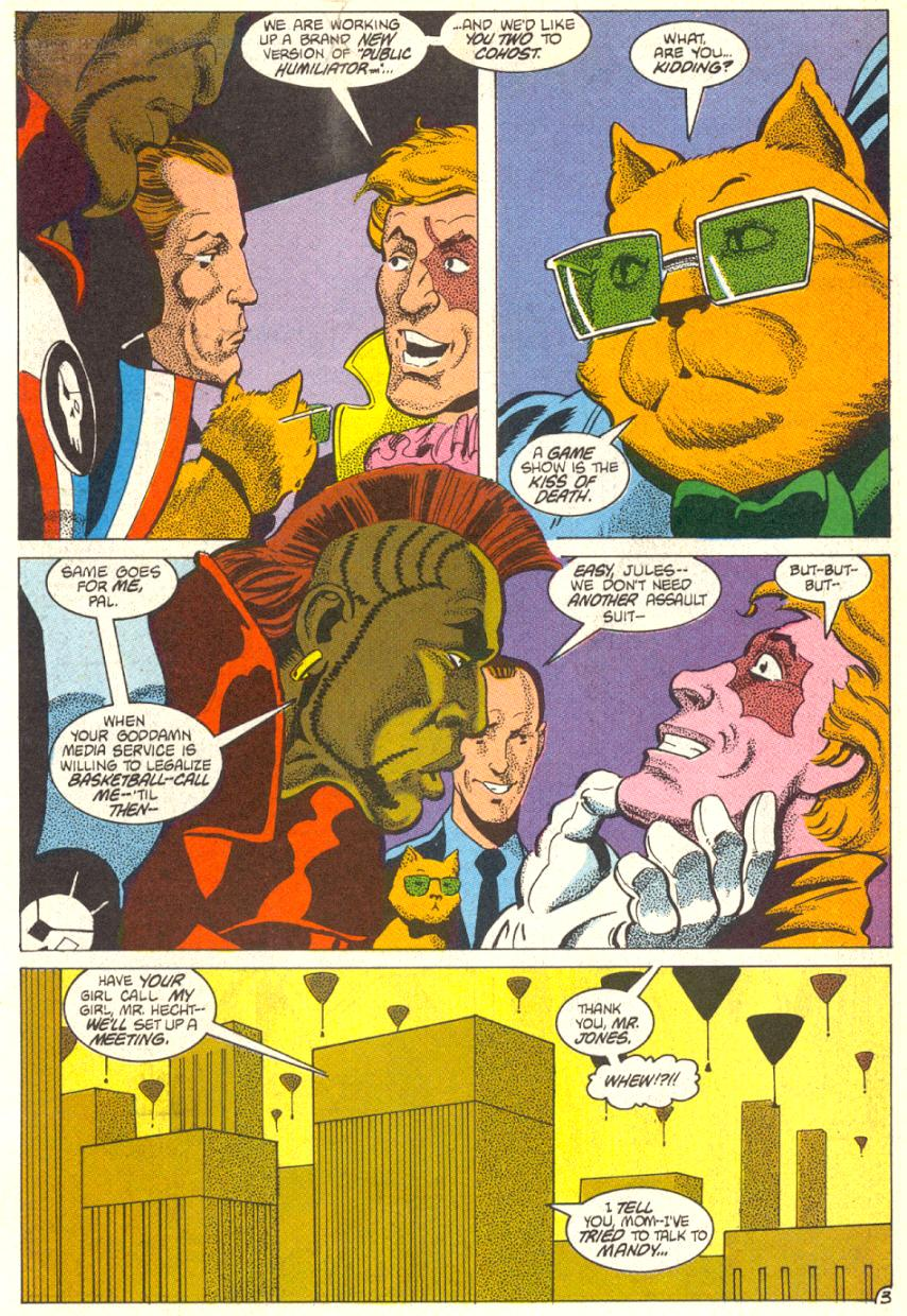 Read online American Flagg! comic -  Issue #14 - 4