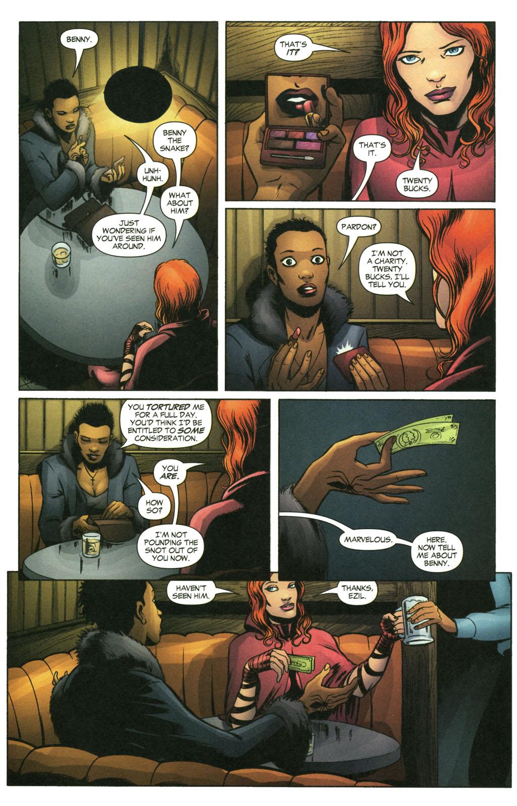 Read online Fallen Angel (2003) comic -  Issue #14 - 13