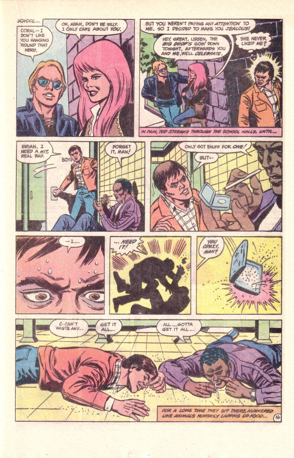 Read online The New Teen Titans (Drug Awareness Specials) comic -  Issue #1 - 21